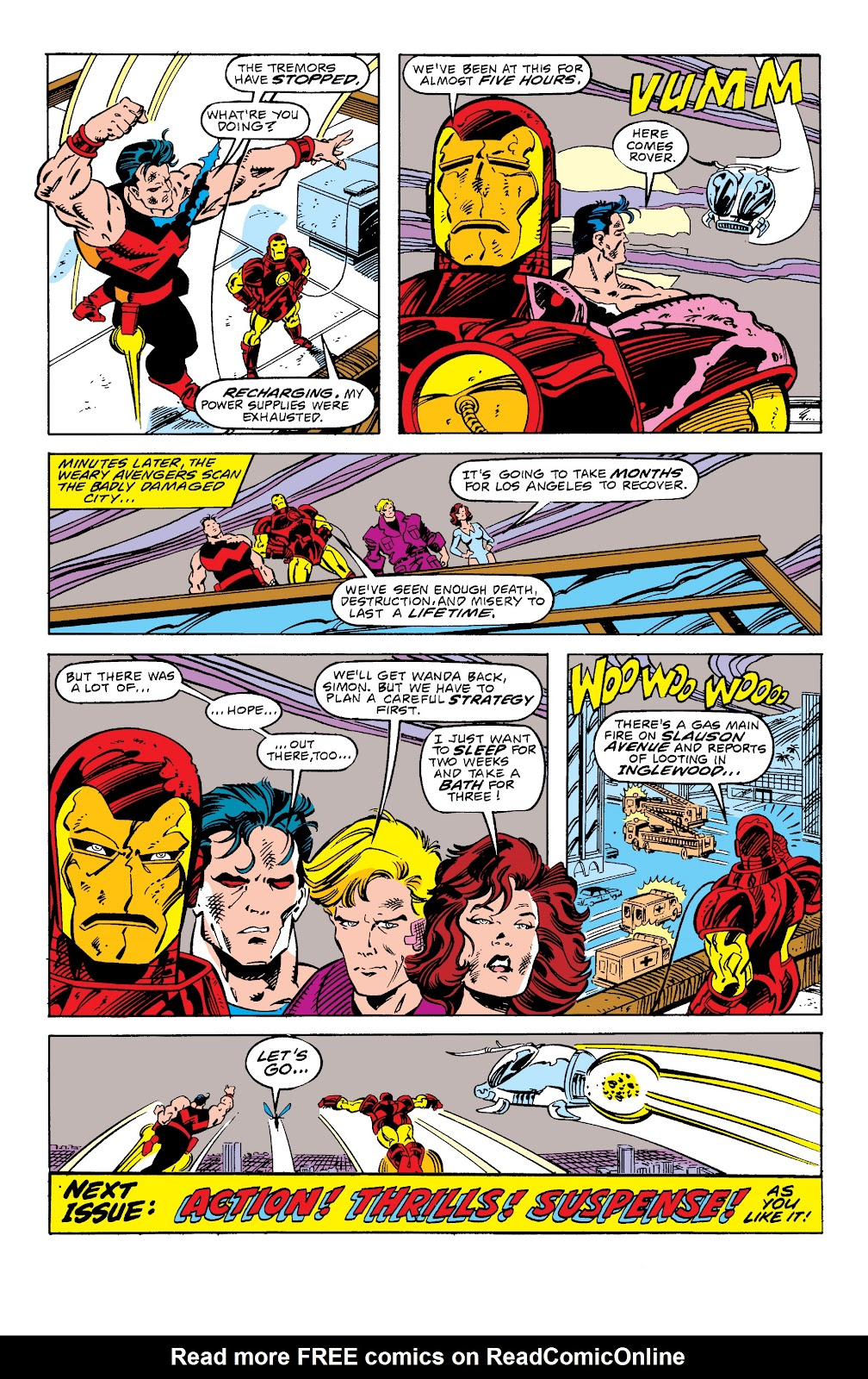 Avengers West Coast (1989) issue 58 - Page 23