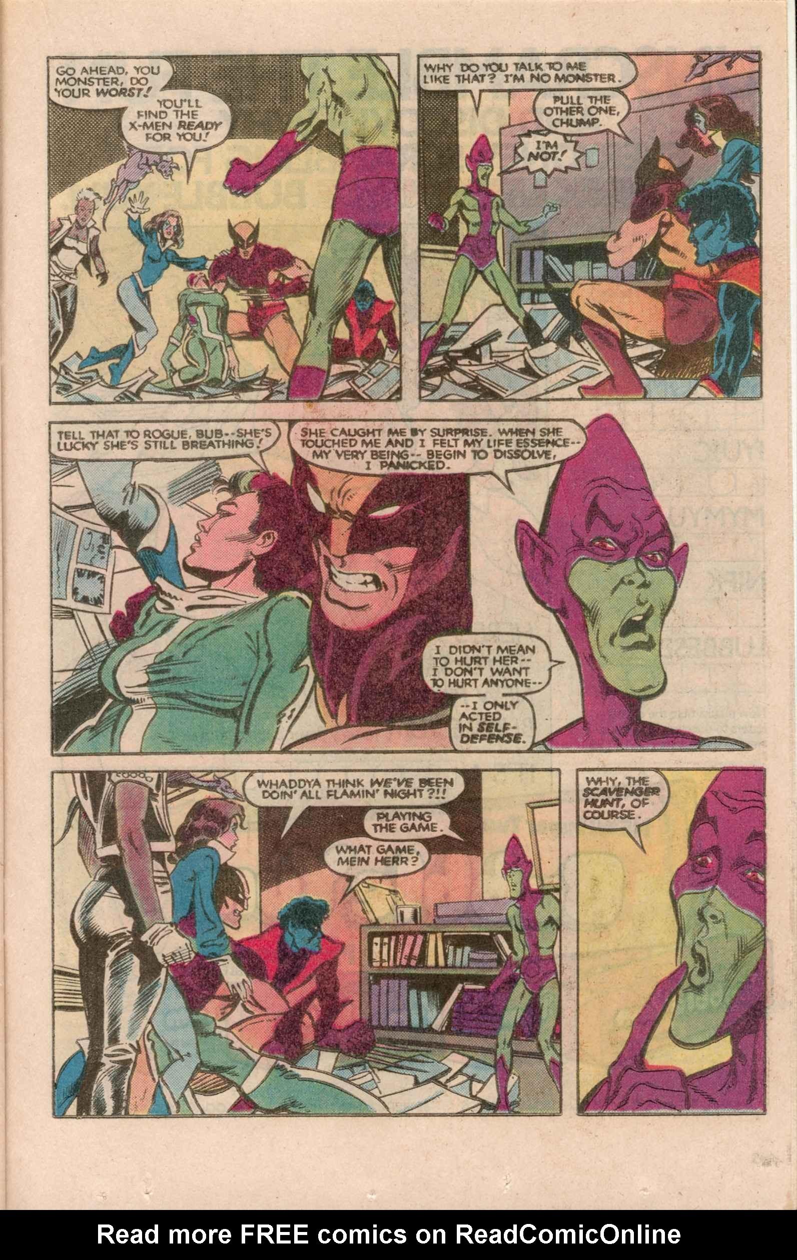 Read online Uncanny X-Men (1963) comic -  Issue # _Annual 7 - 32