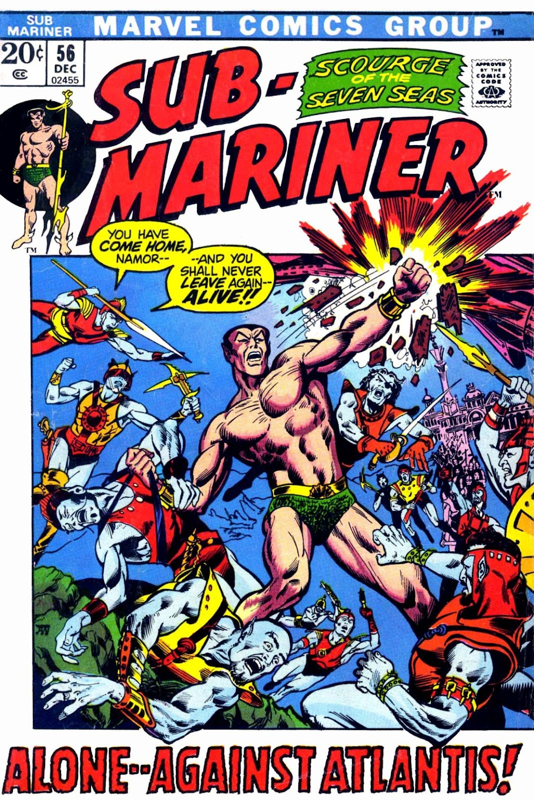 The Sub-Mariner 56 Page 1
