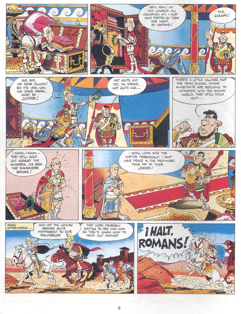 Read online Asterix comic -  Issue #14 - 3