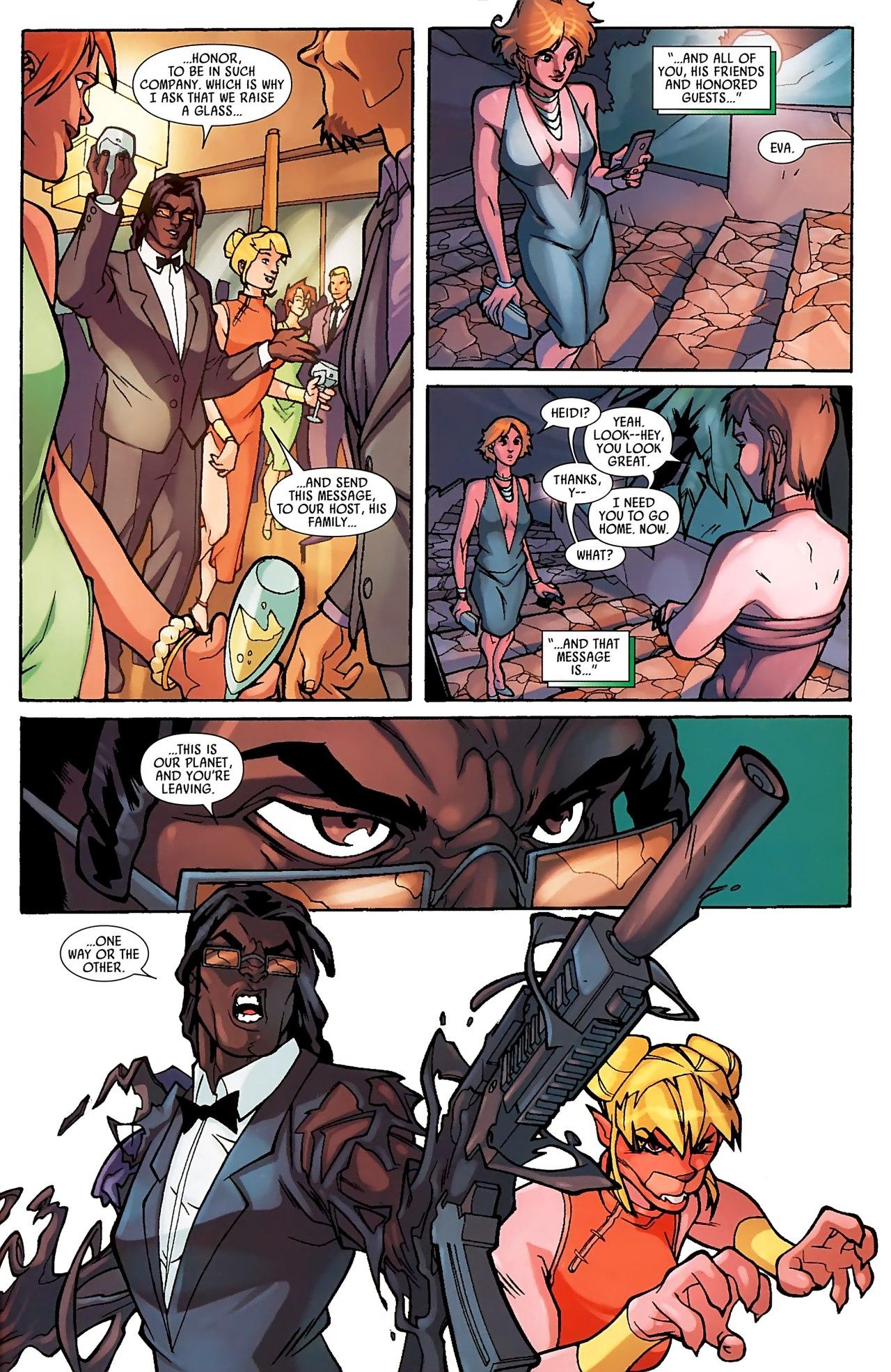 Read online Skrull Kill Krew (2009) comic -  Issue #3 - 19