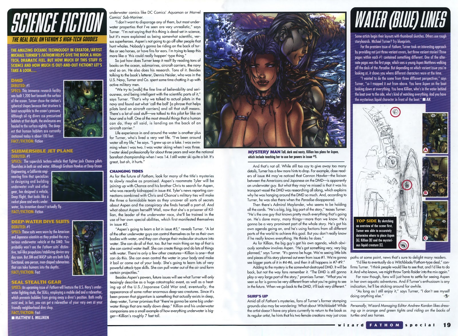 Read online Fathom Special comic -  Issue # Full - 13