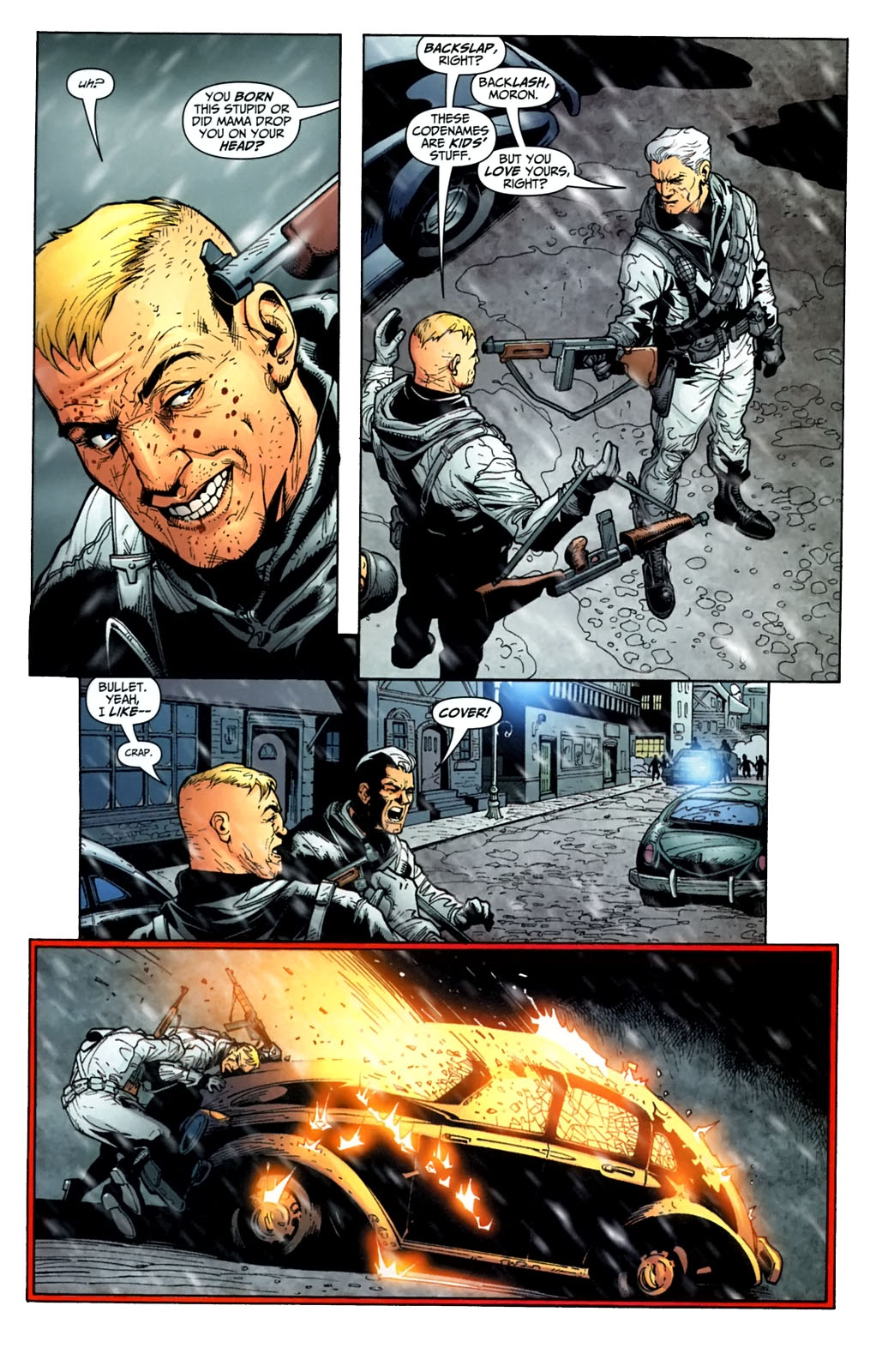 Read online Team Zero comic -  Issue #3 - 7
