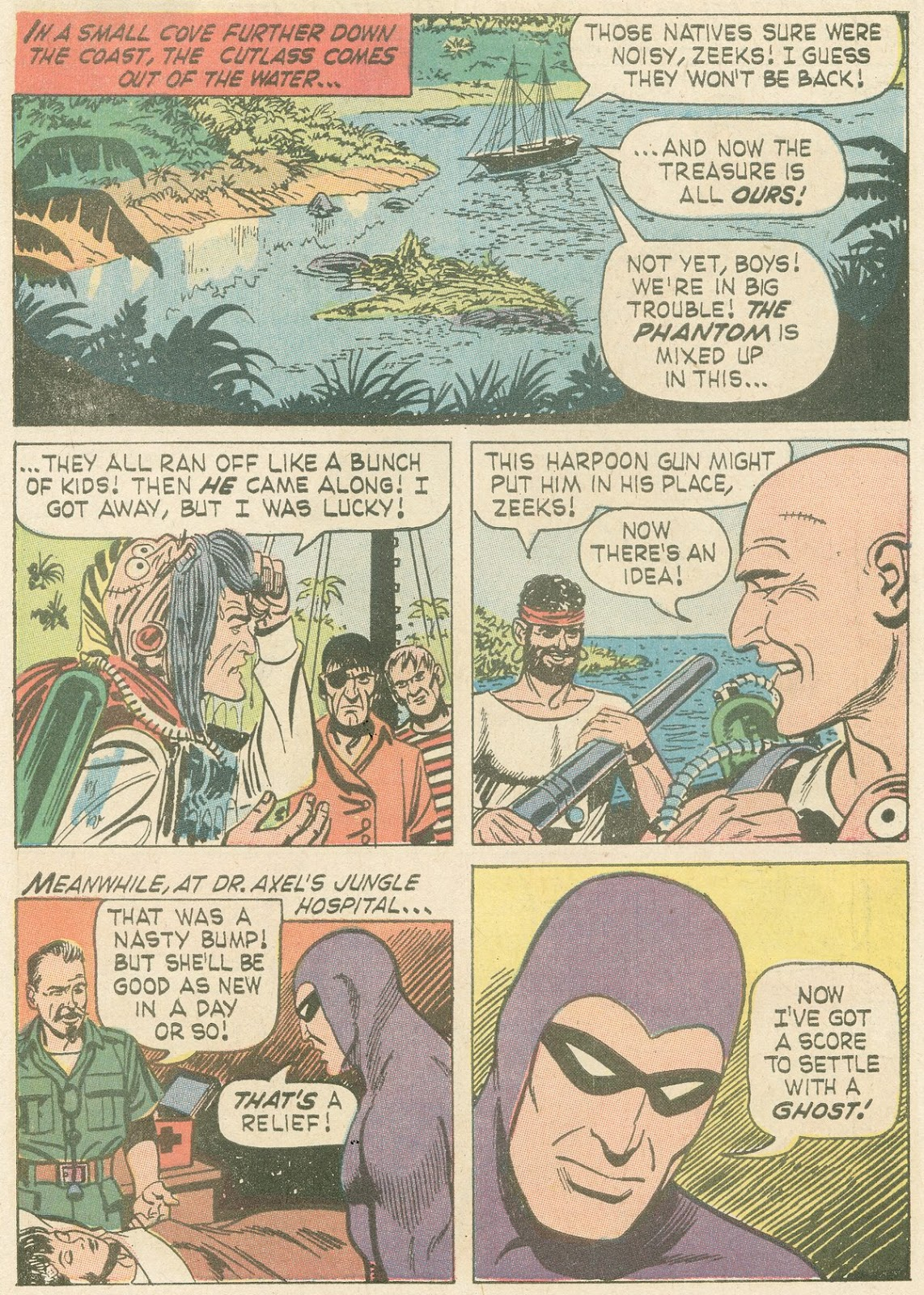 The Phantom (1966) issue 21 - Page 6