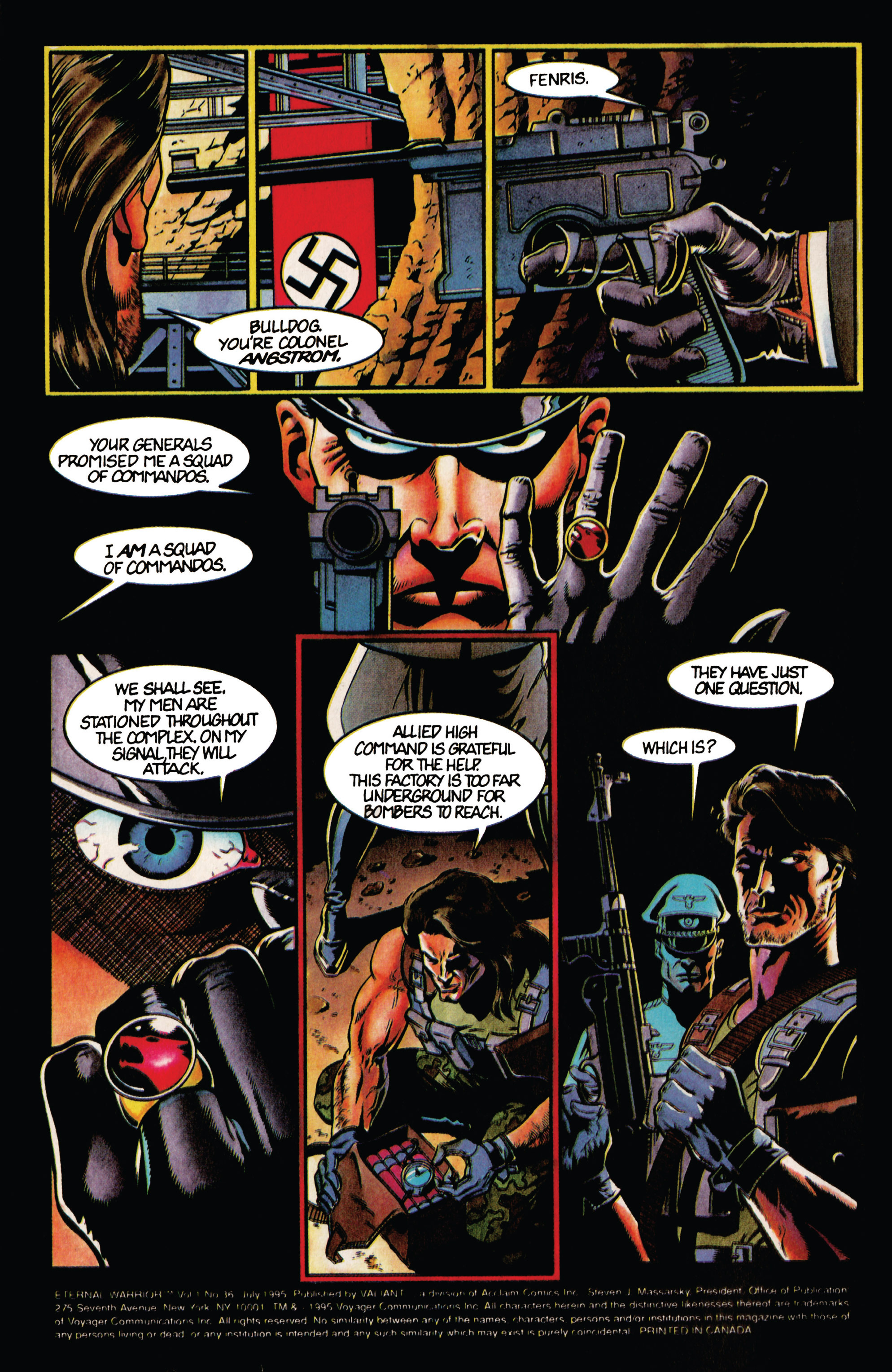 Read online Eternal Warrior (1992) comic -  Issue #36 - 3