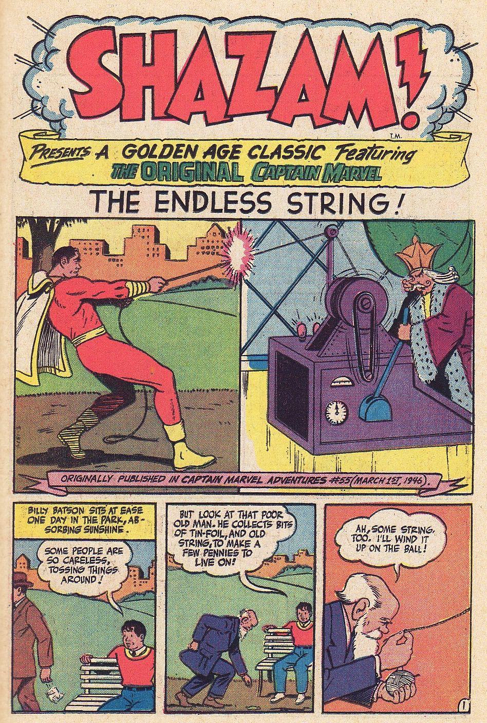 Read online Shazam! (1973) comic -  Issue #1 - 19