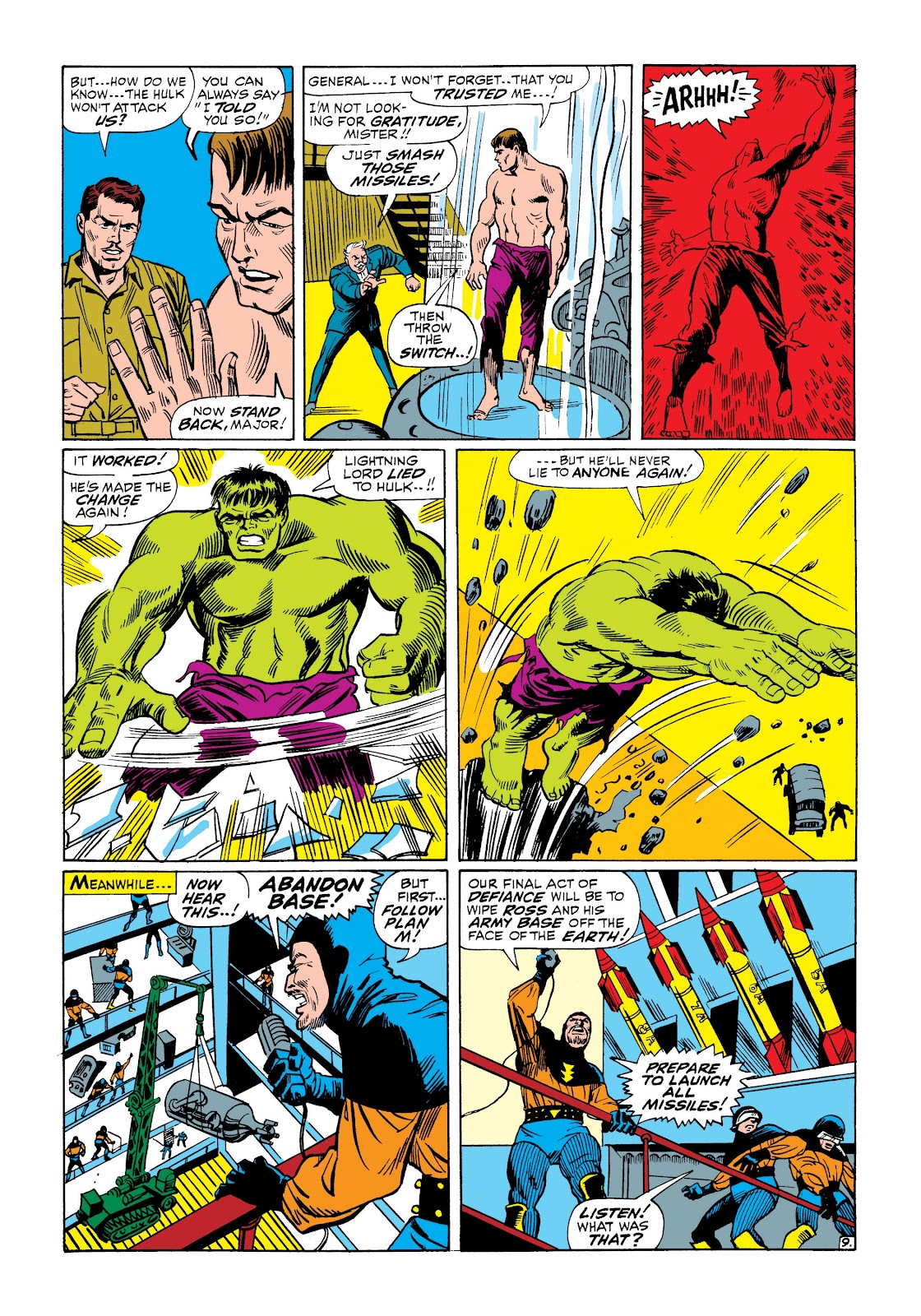 Read online Marvel Masterworks: The Incredible Hulk comic -  Issue # TPB 3 (Part 3) - 25