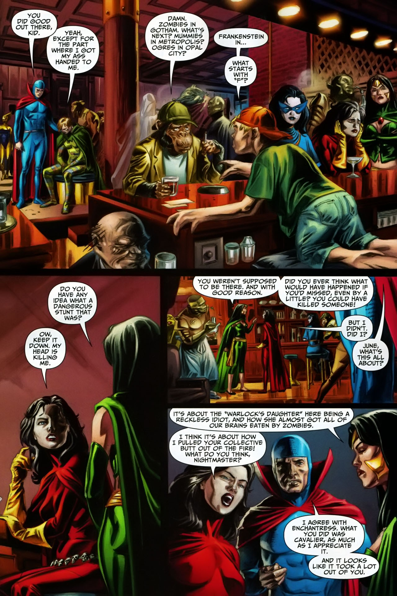 Read online Shadowpact comic -  Issue #17 - 10