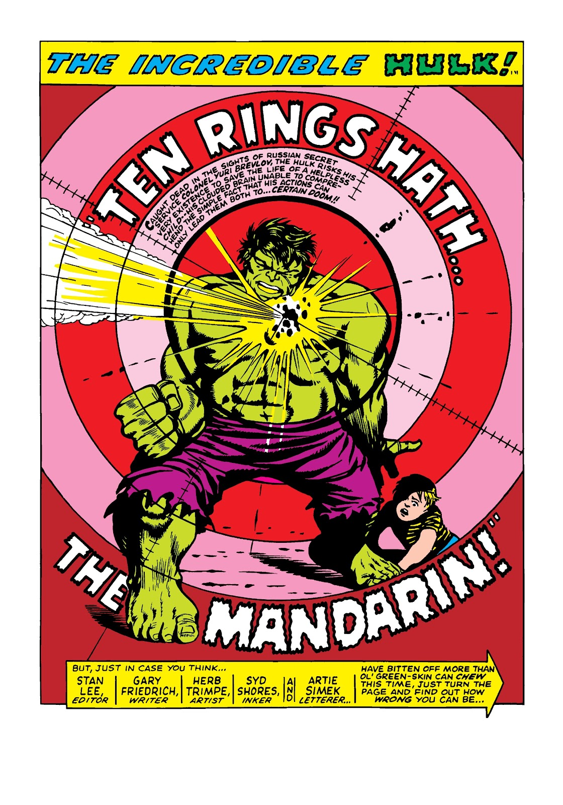 Read online Marvel Masterworks: The Incredible Hulk comic -  Issue # TPB 4 (Part 1) - 92