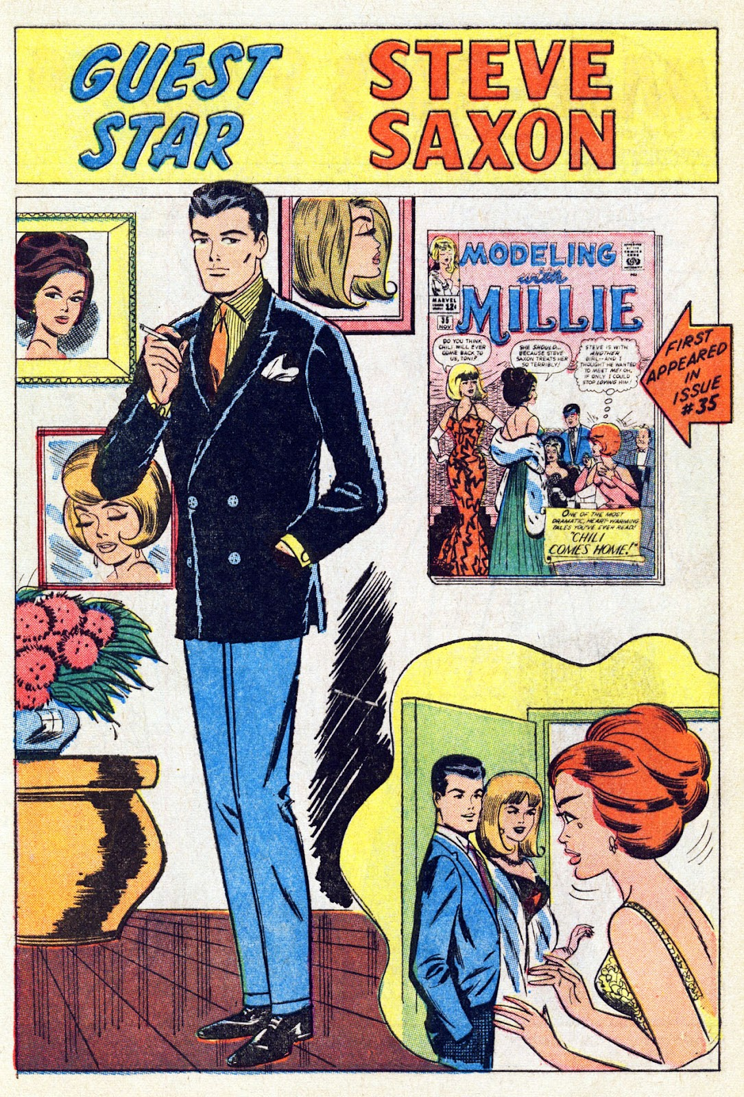 Read online Millie the Model comic -  Issue # Annual 4 - 41