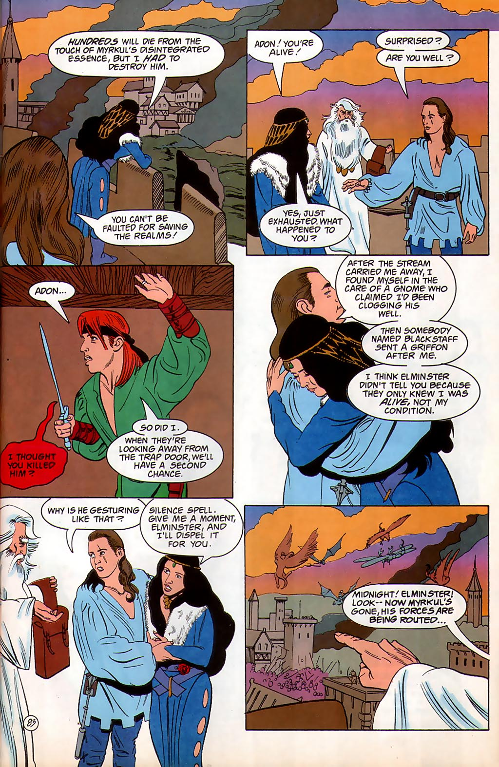 Read online Avatar comic -  Issue #3 - 84