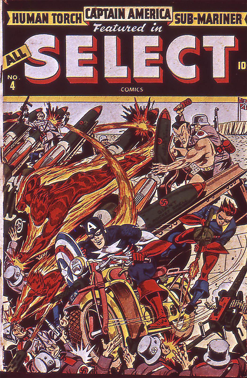All-Select Comics 4 Page 1