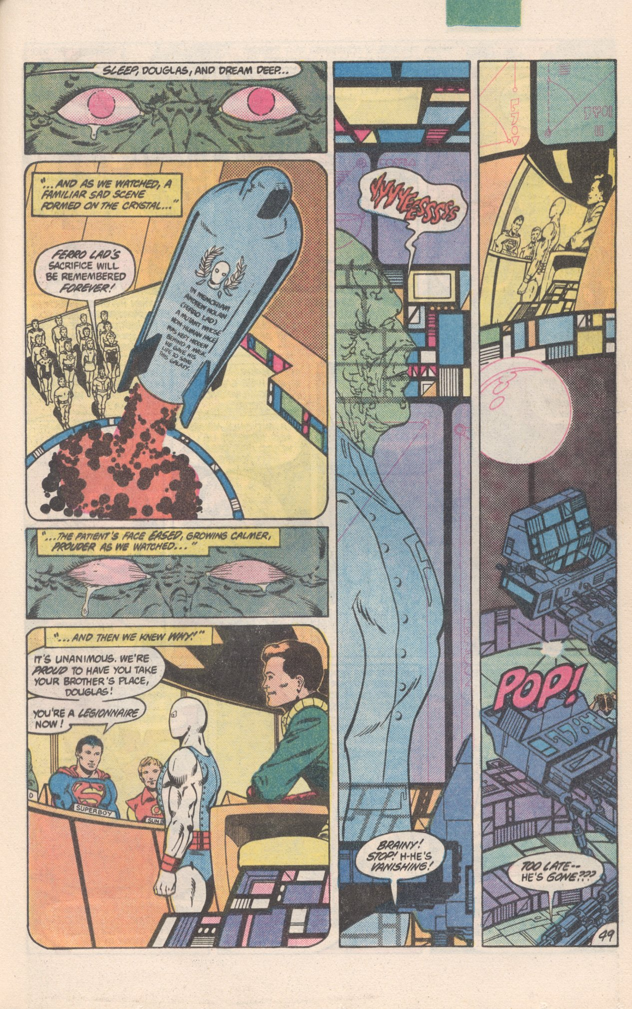 Legion of Super-Heroes (1980) 300 Page 49