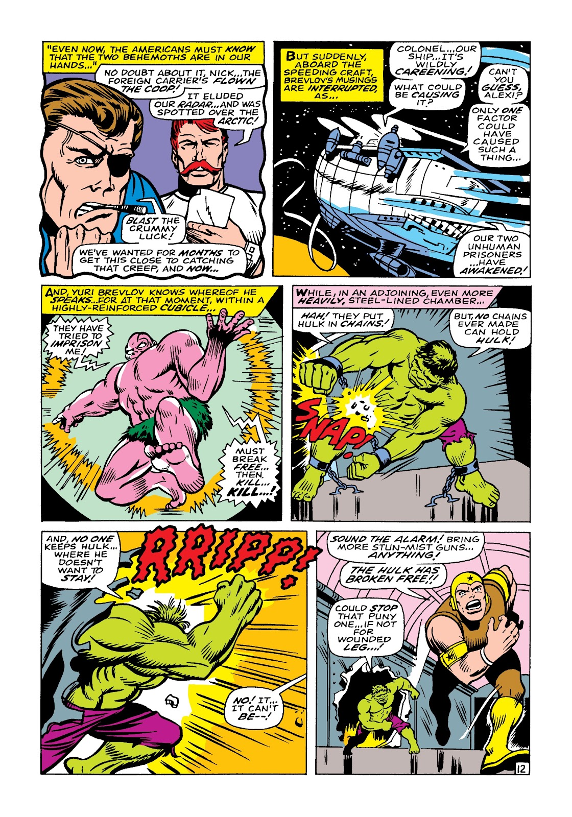 Read online Marvel Masterworks: The Incredible Hulk comic -  Issue # TPB 4 (Part 1) - 82