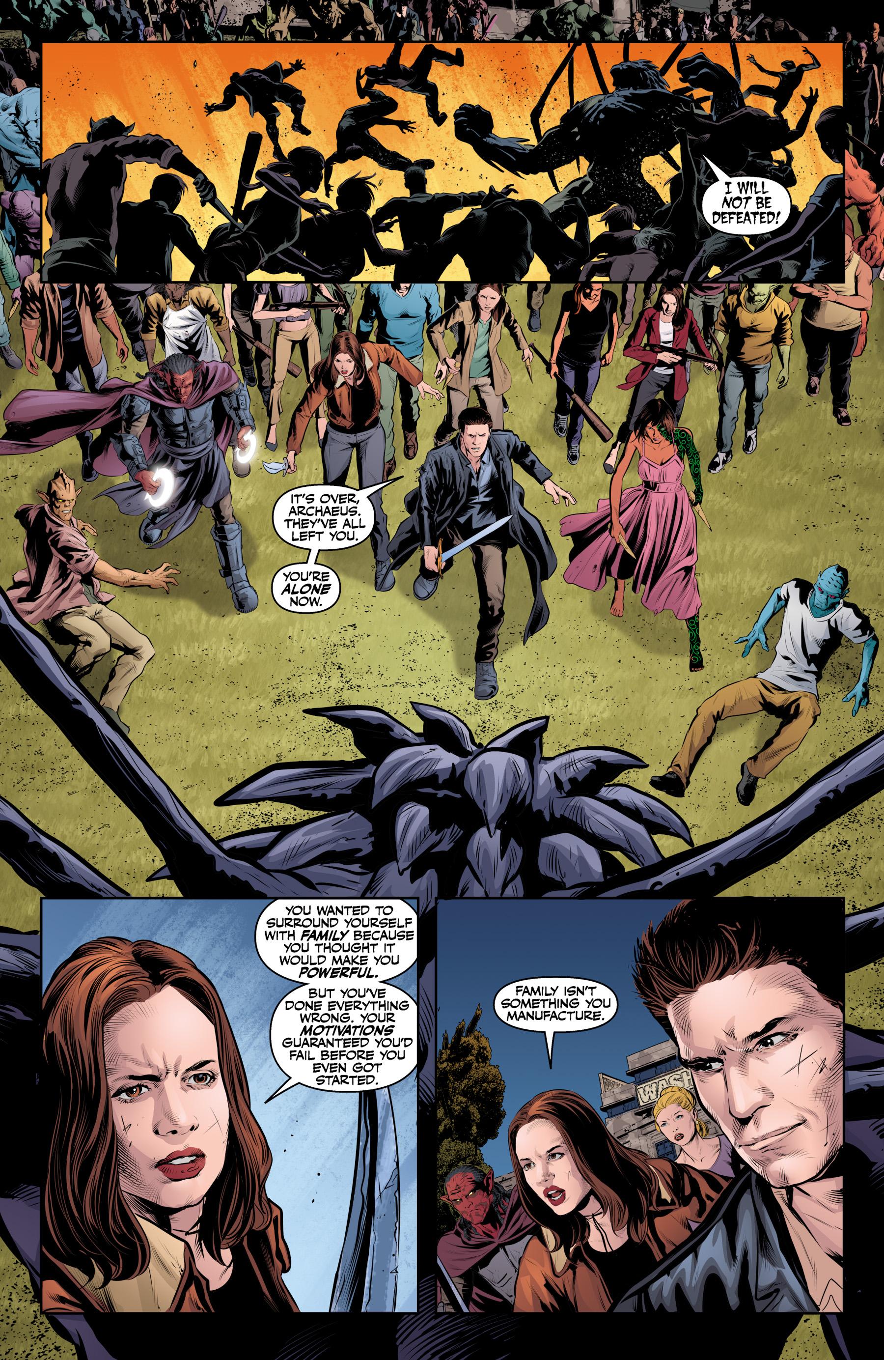 Read online Angel & Faith Season 10 comic -  Issue #25 - 11