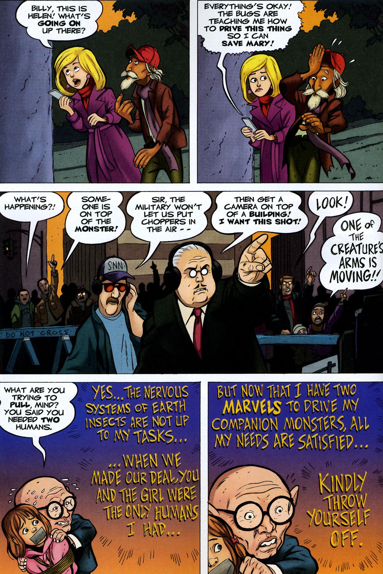 Read online Shazam!: The Monster Society of Evil comic -  Issue #4 - 28