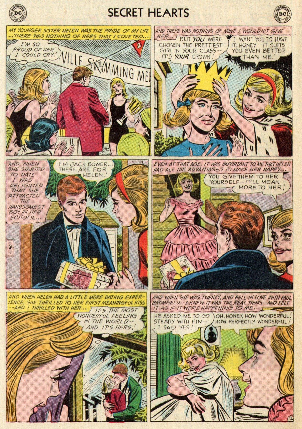 Read online Secret Hearts comic -  Issue #95 - 4