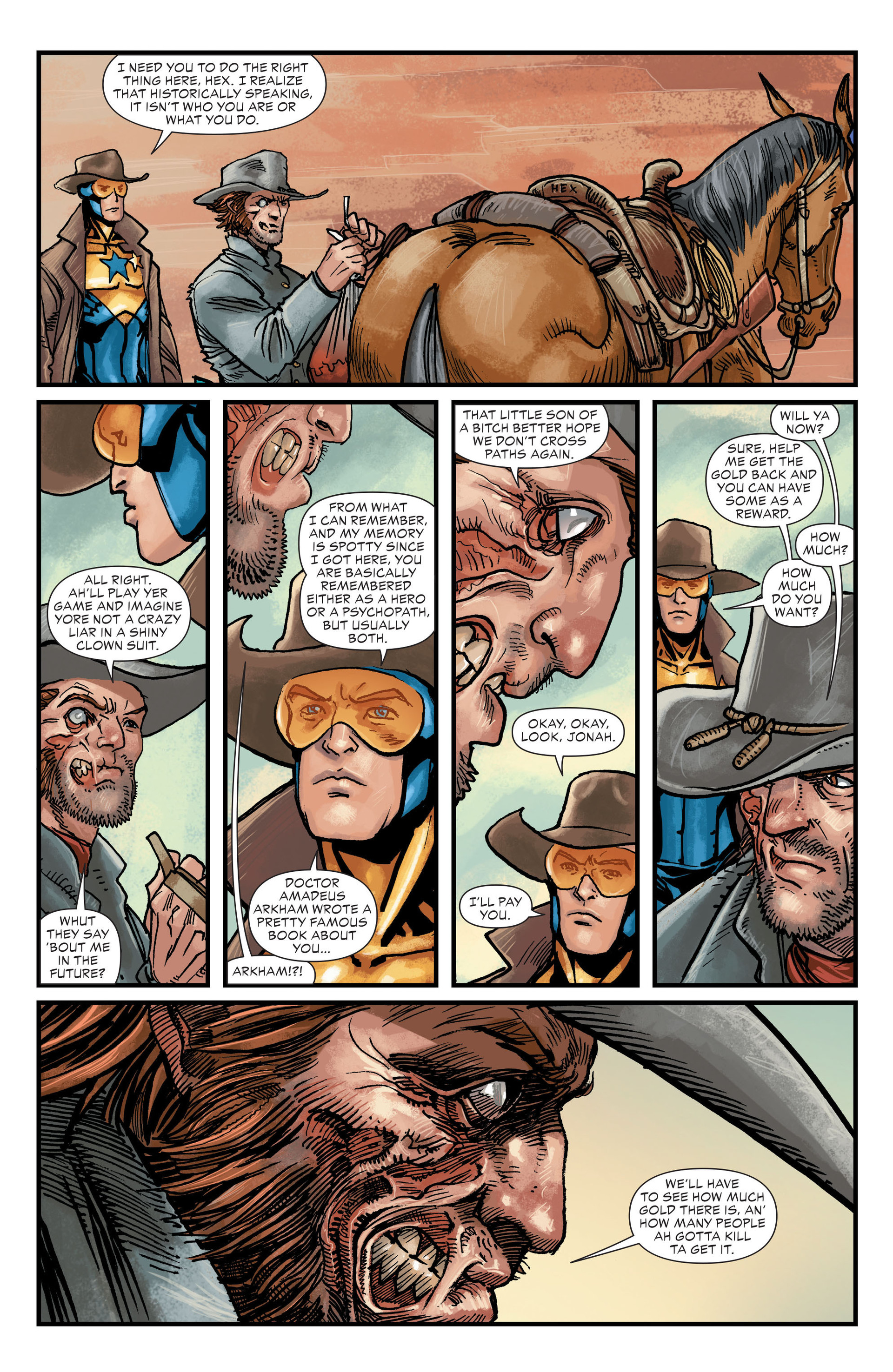 Read online All-Star Western (2011) comic -  Issue #20 - 7