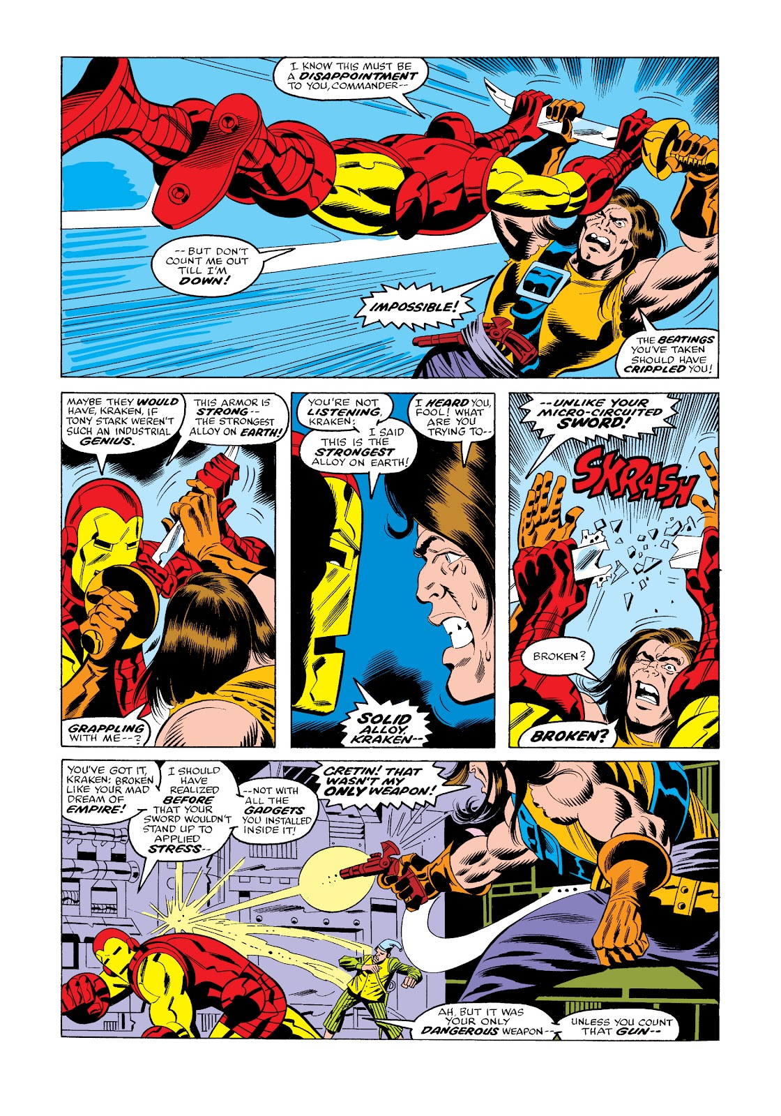 Read online Marvel Masterworks: The Invincible Iron Man comic -  Issue # TPB 11 (Part 3) - 82