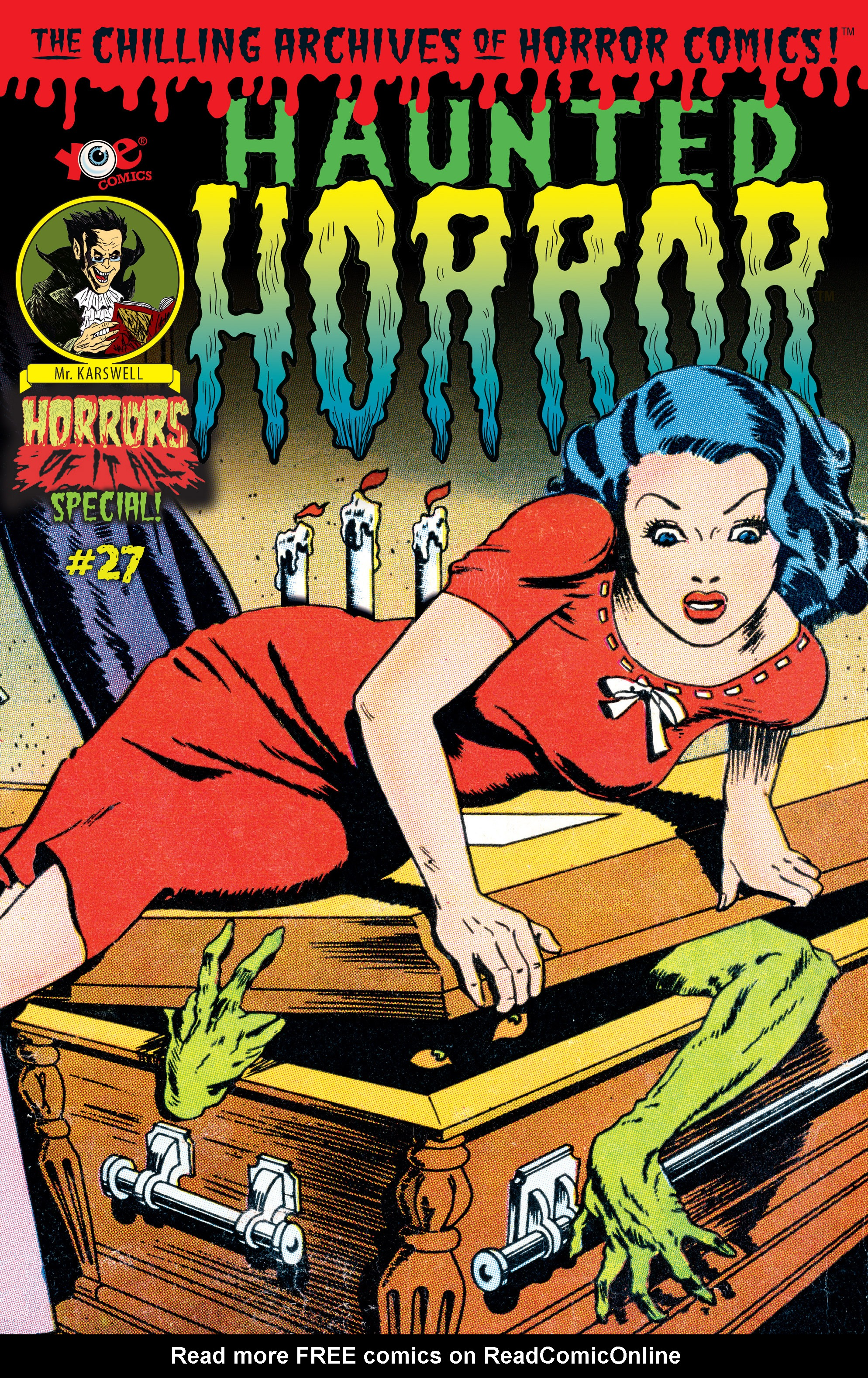 Read online Haunted Horror comic -  Issue #27 - 1