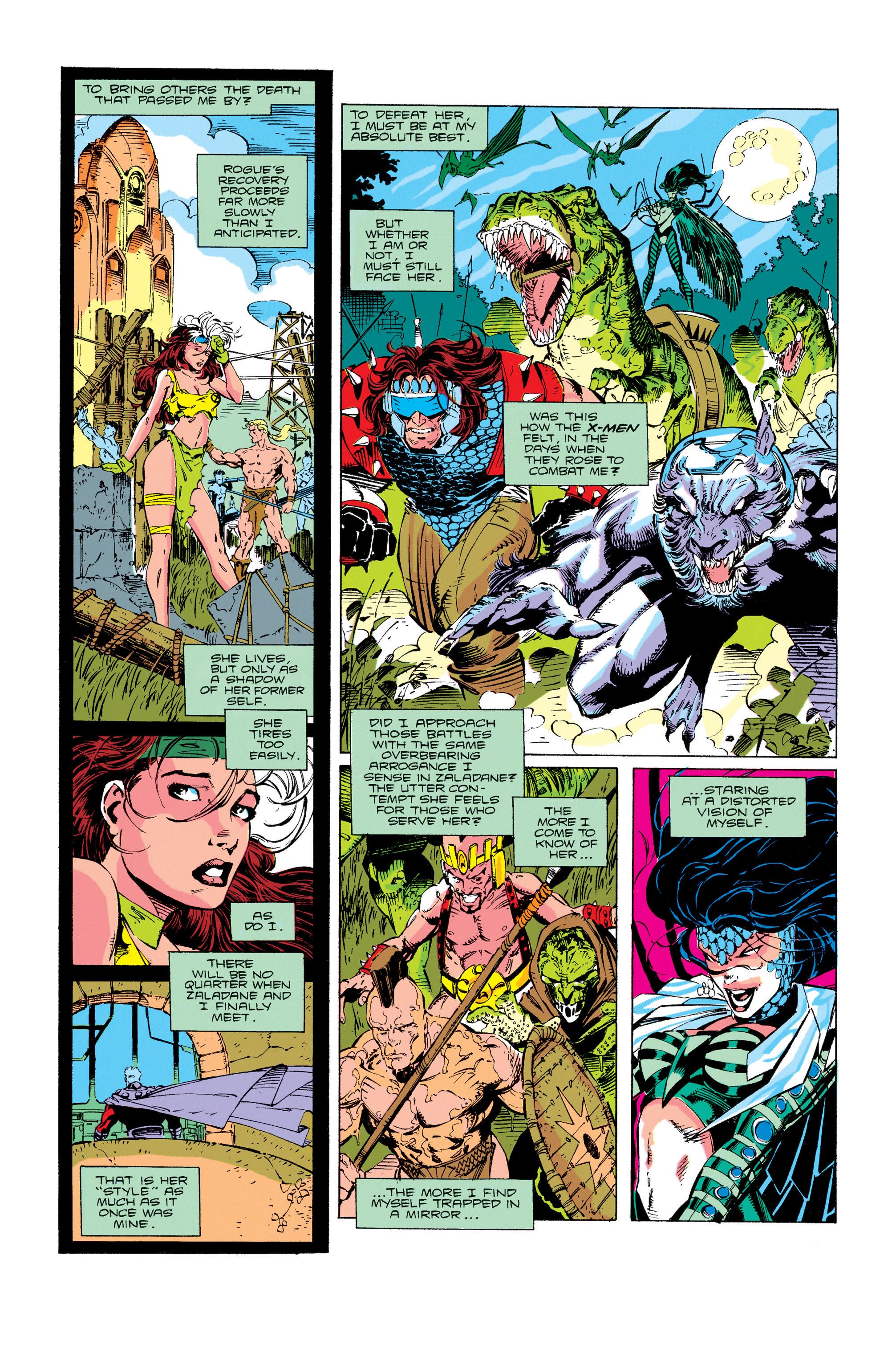 Read online Uncanny X-Men (1963) comic -  Issue #274 - 9
