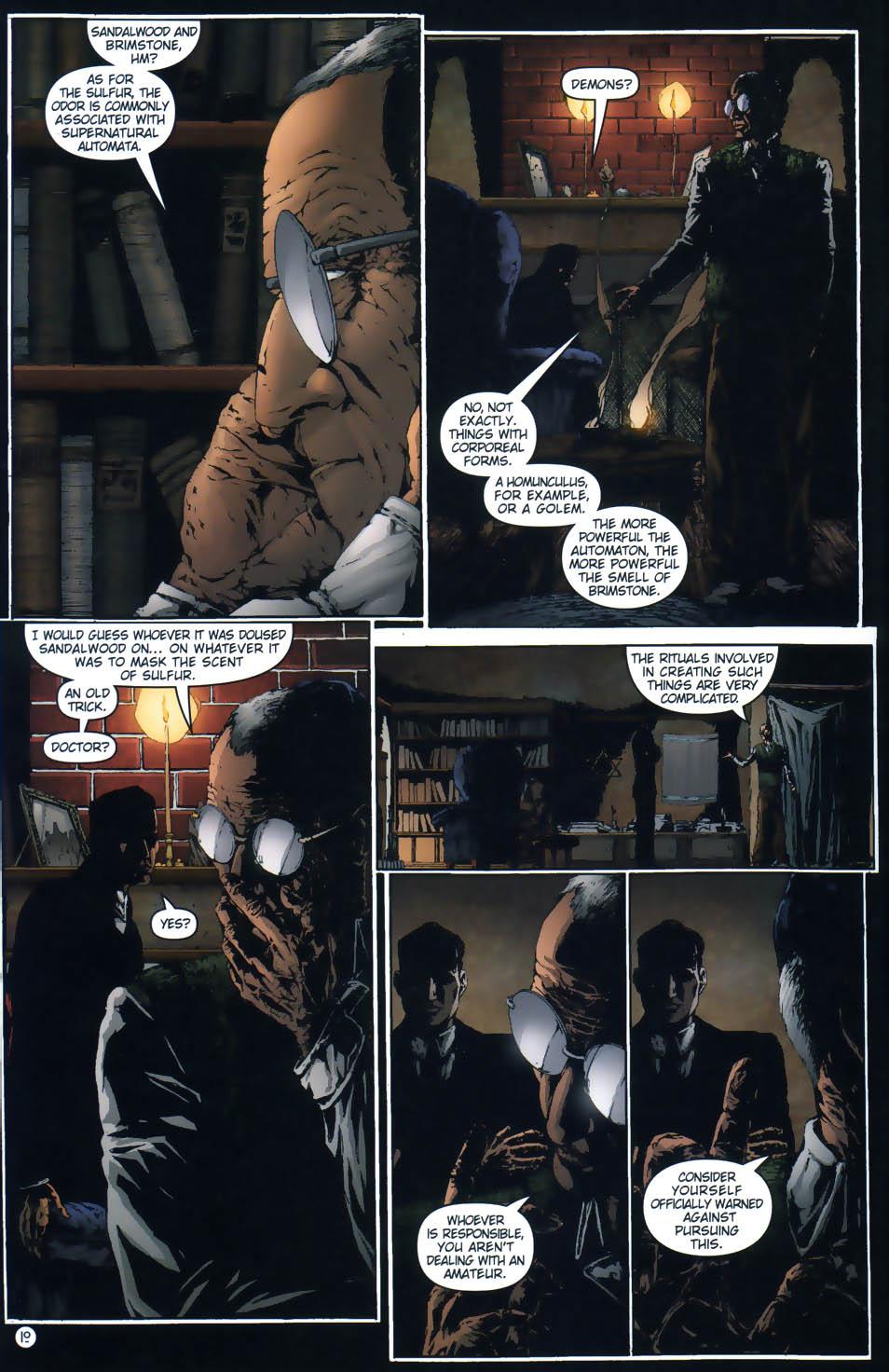 Read online Rex Mundi comic -  Issue #1 - 12