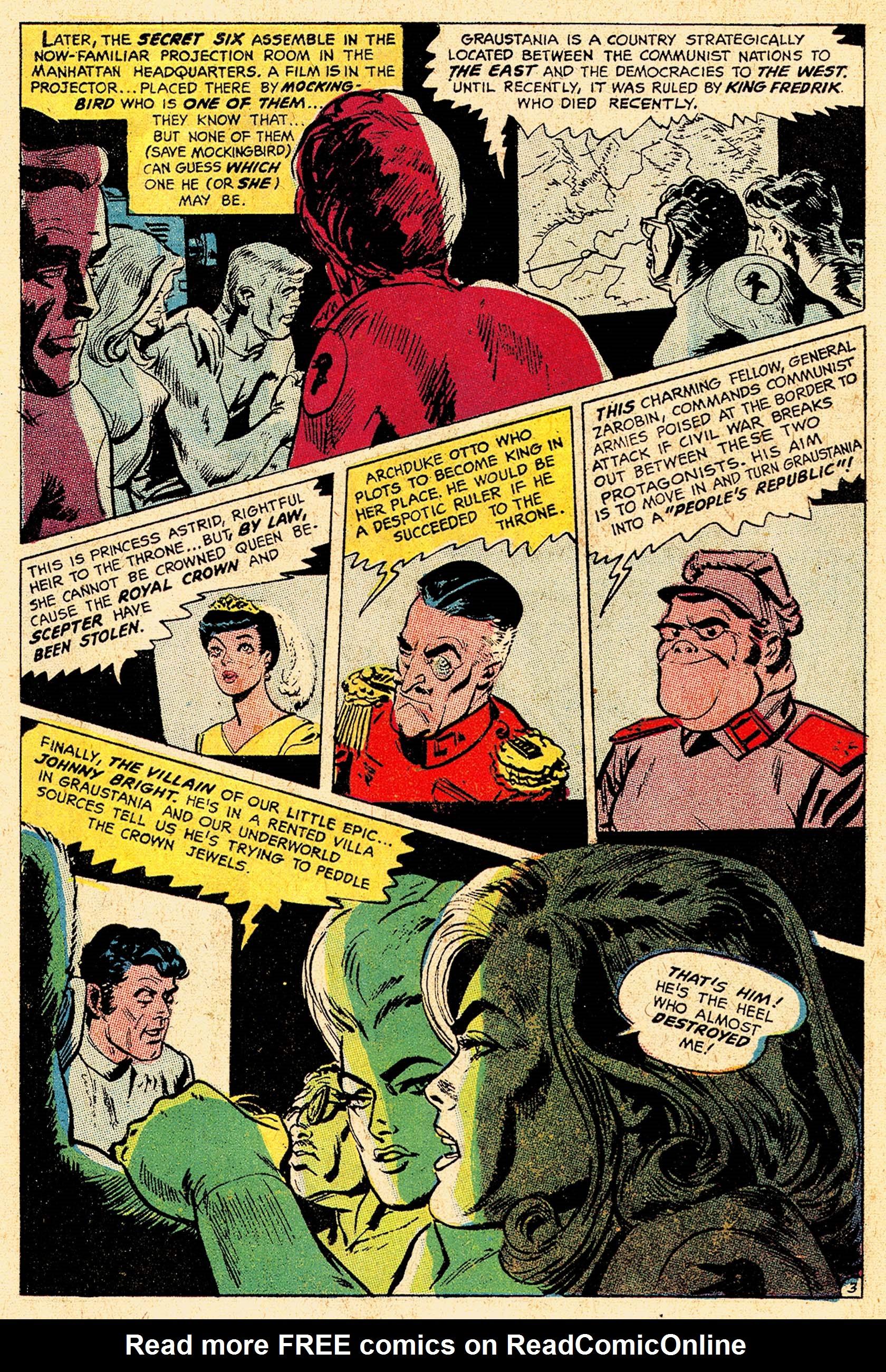 Read online Secret Six (1968) comic -  Issue #5 - 5