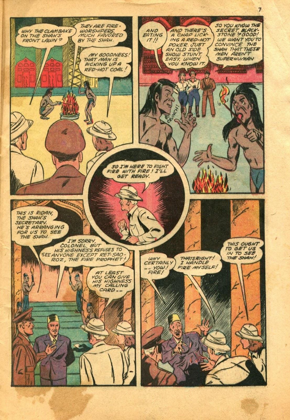 Read online Super-Magician Comics comic -  Issue #11 - 7
