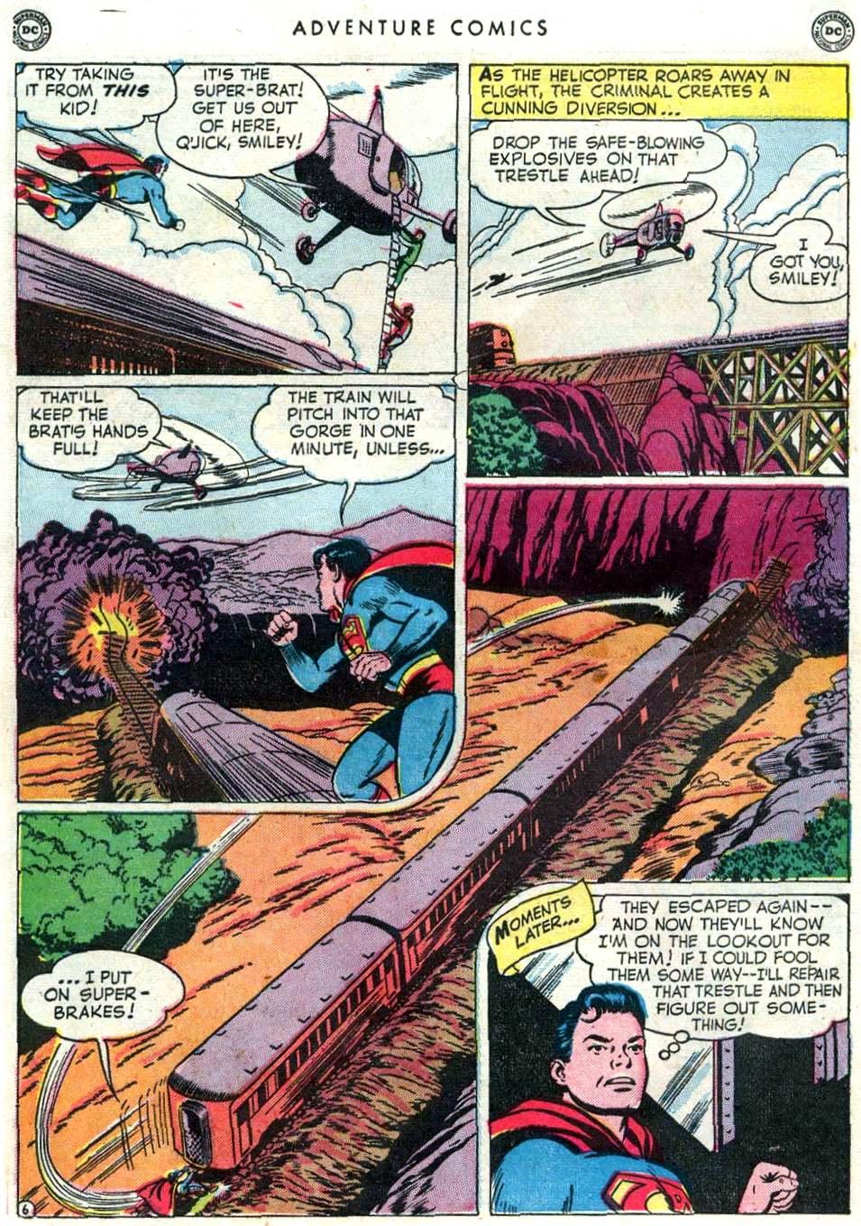 Read online Adventure Comics (1938) comic -  Issue #156 - 8