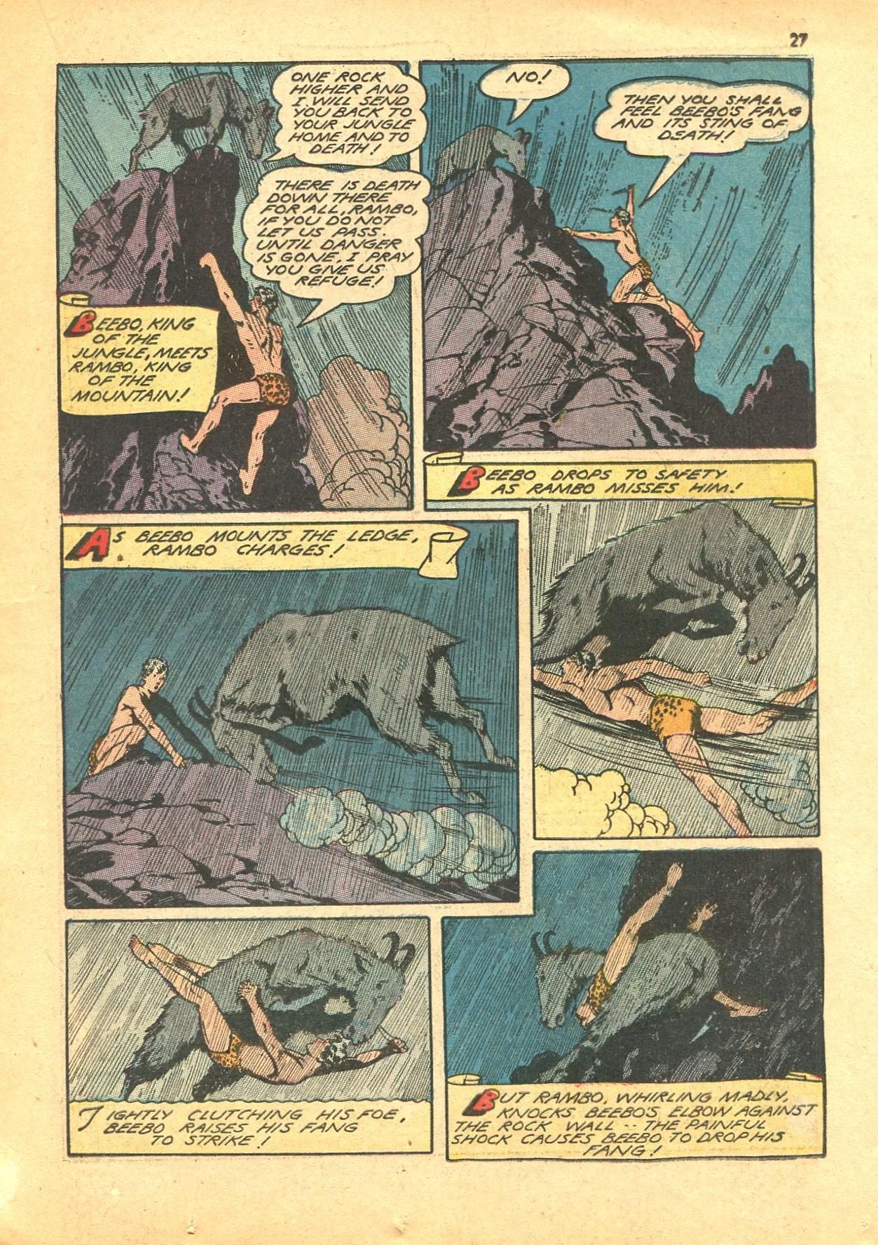 Read online Shadow Comics comic -  Issue #24 - 27