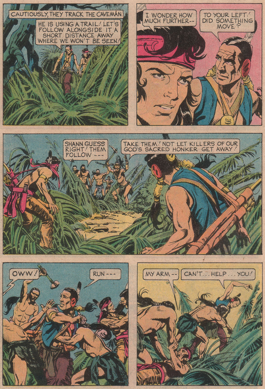 Read online Turok, Son of Stone comic -  Issue #110 - 6