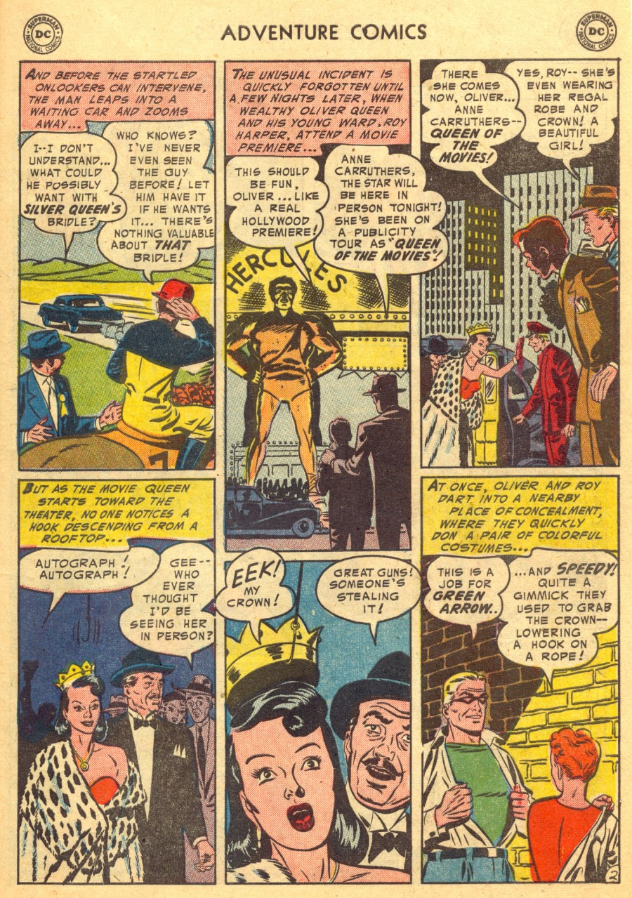 Read online Adventure Comics (1938) comic -  Issue #203 - 35