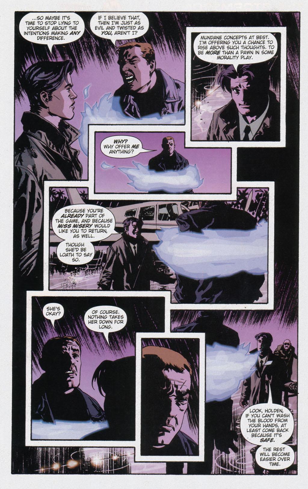 Read online Sleeper comic -  Issue #12 - 20