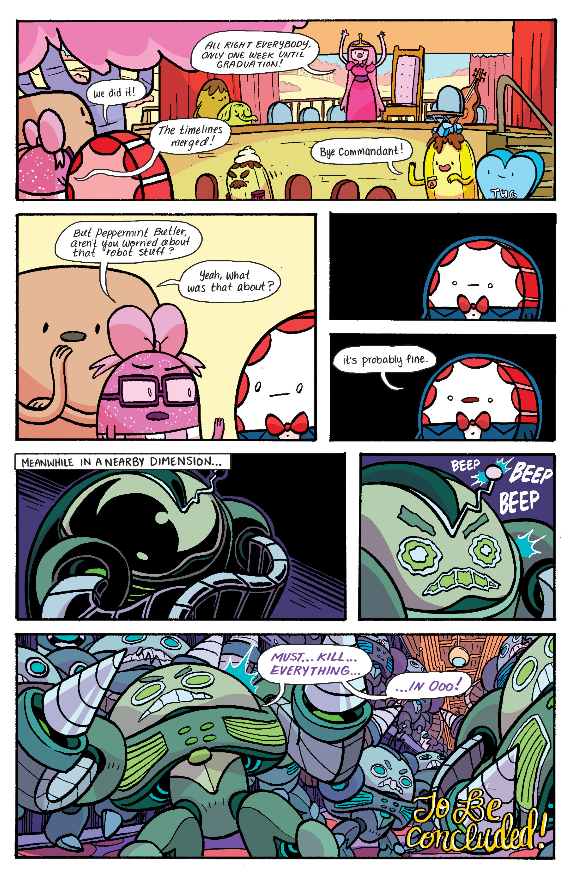 Read online Adventure Time: Banana Guard Academ comic -  Issue #5 - 22