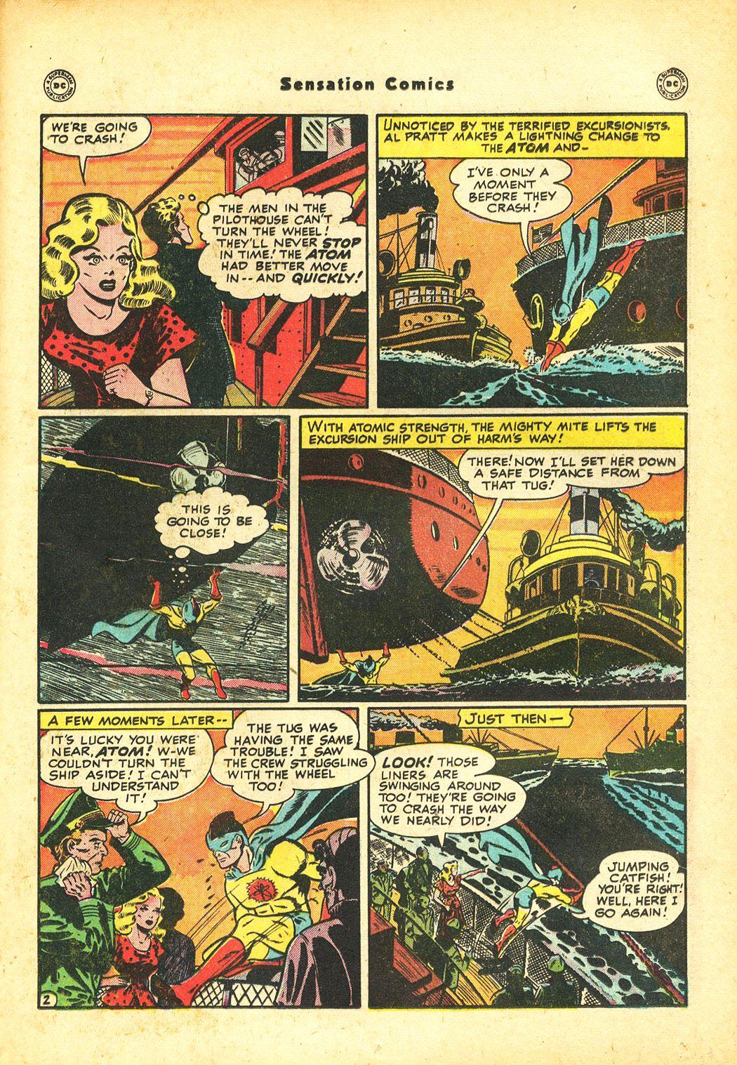 Read online Sensation (Mystery) Comics comic -  Issue #86 - 37