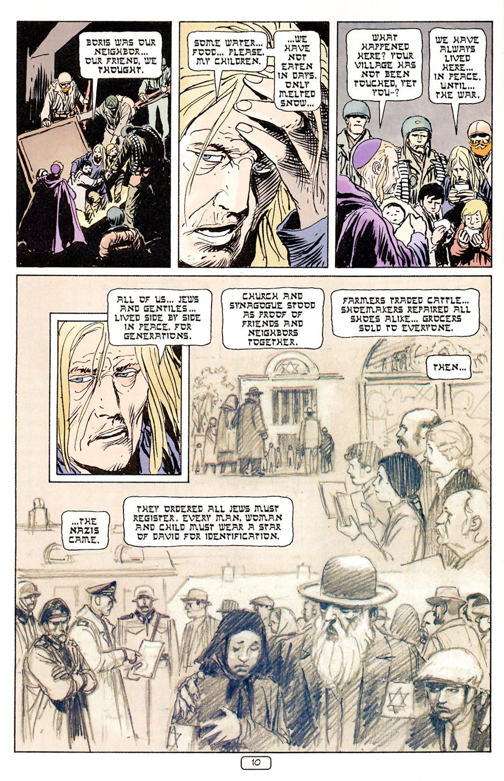 Read online Sgt. Rock: The Prophecy comic -  Issue #5 - 10