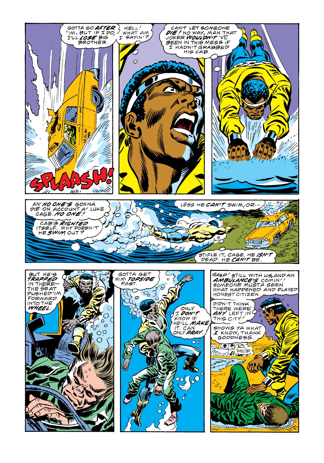 Read online Marvel Masterworks: Luke Cage, Power Man comic -  Issue # TPB 3 (Part 2) - 81