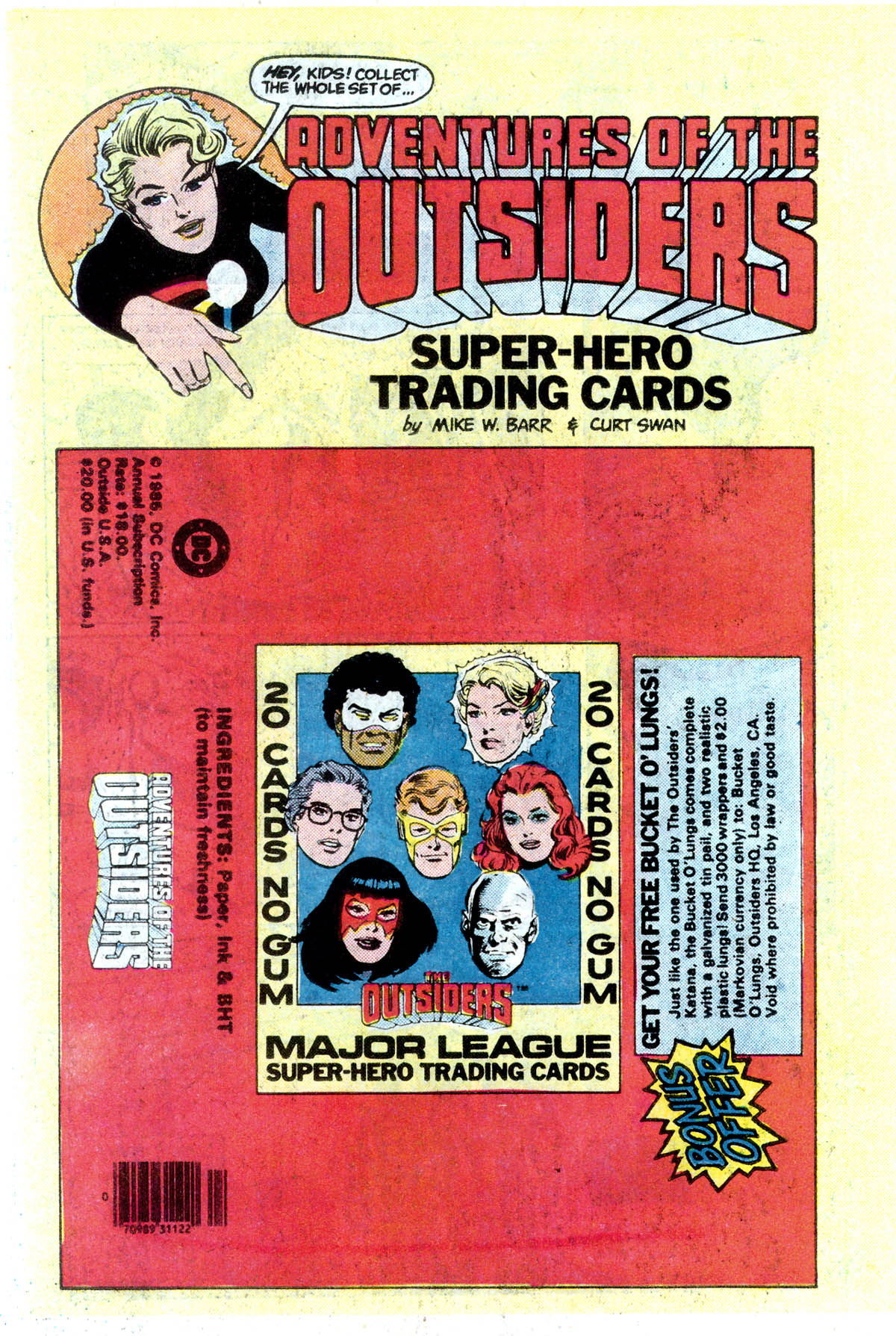 Read online Adventures of the Outsiders comic -  Issue #45 - 22