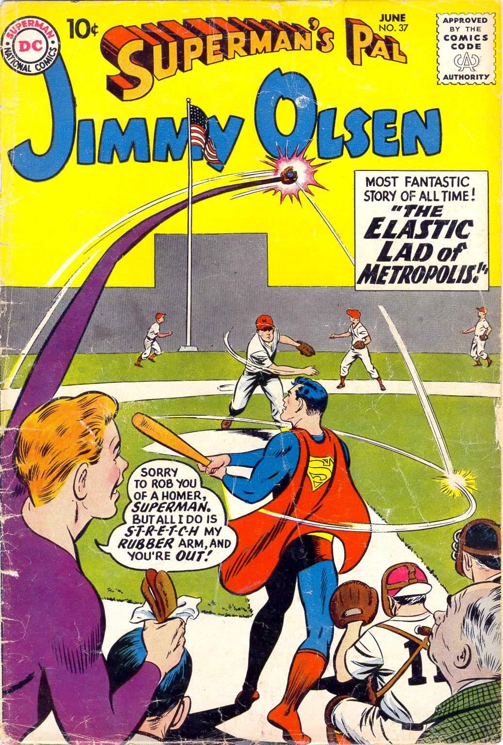 Supermans Pal Jimmy Olsen (1954) 37 Page 1