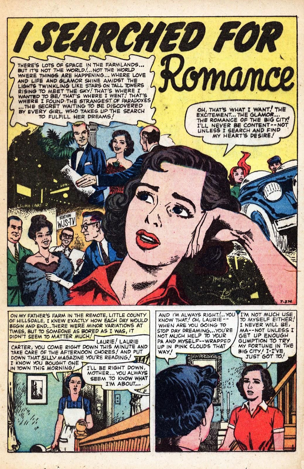Love Romances (1949) issue 83 - Page 21