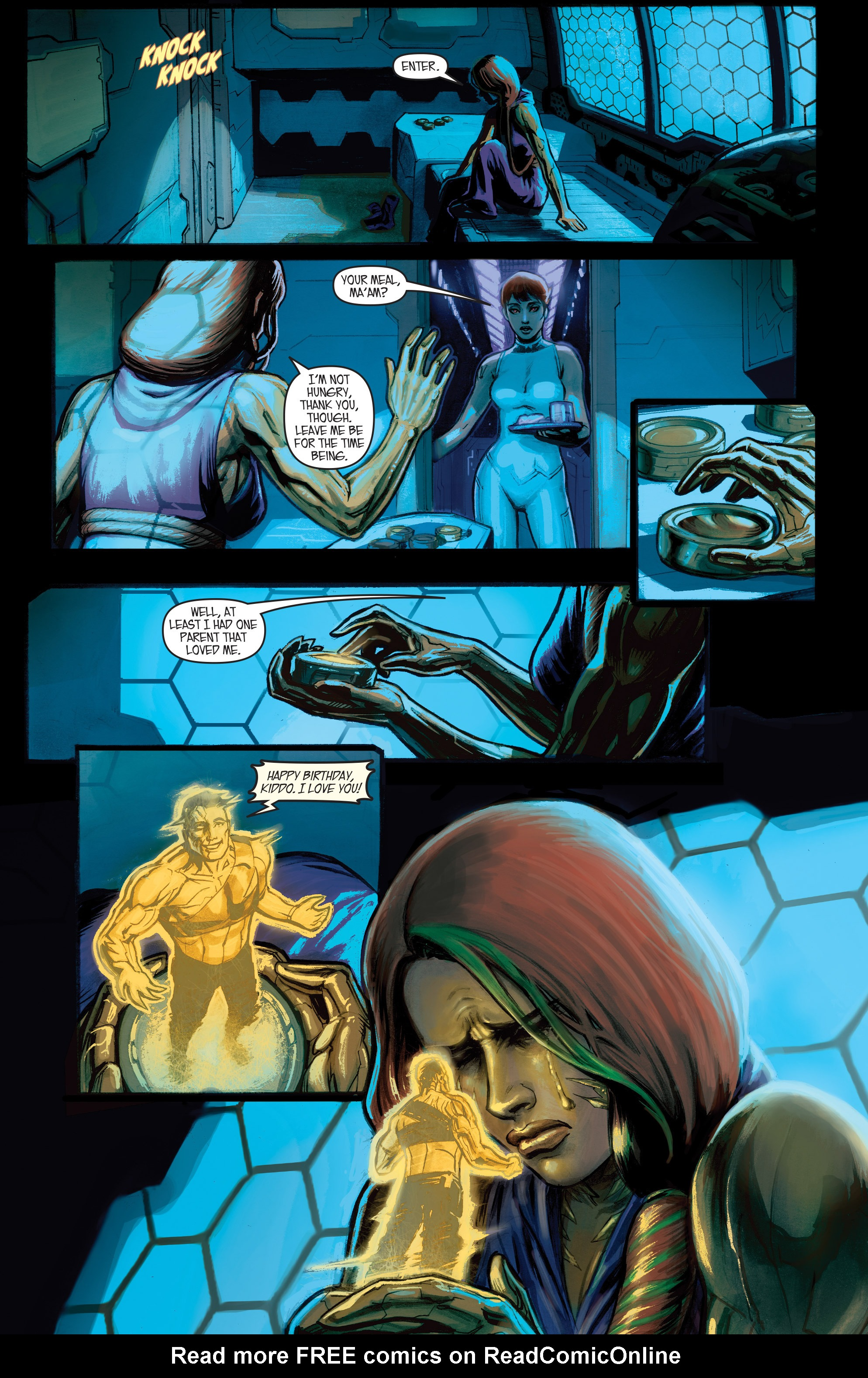 Read online IXth Generation Hidden Files comic -  Issue #1 - 10
