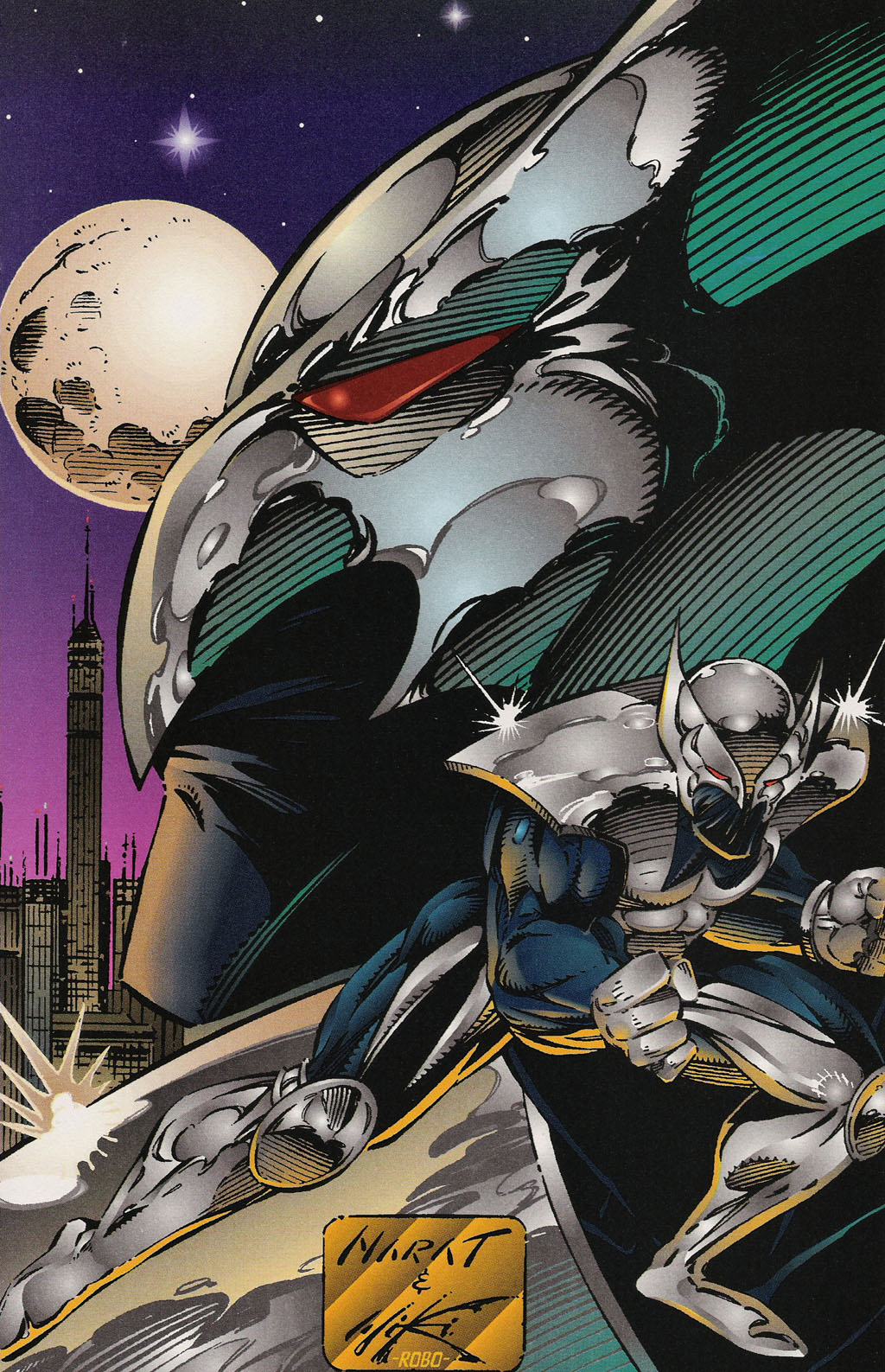 Read online ShadowHawk Gallery comic -  Issue # Full - 15