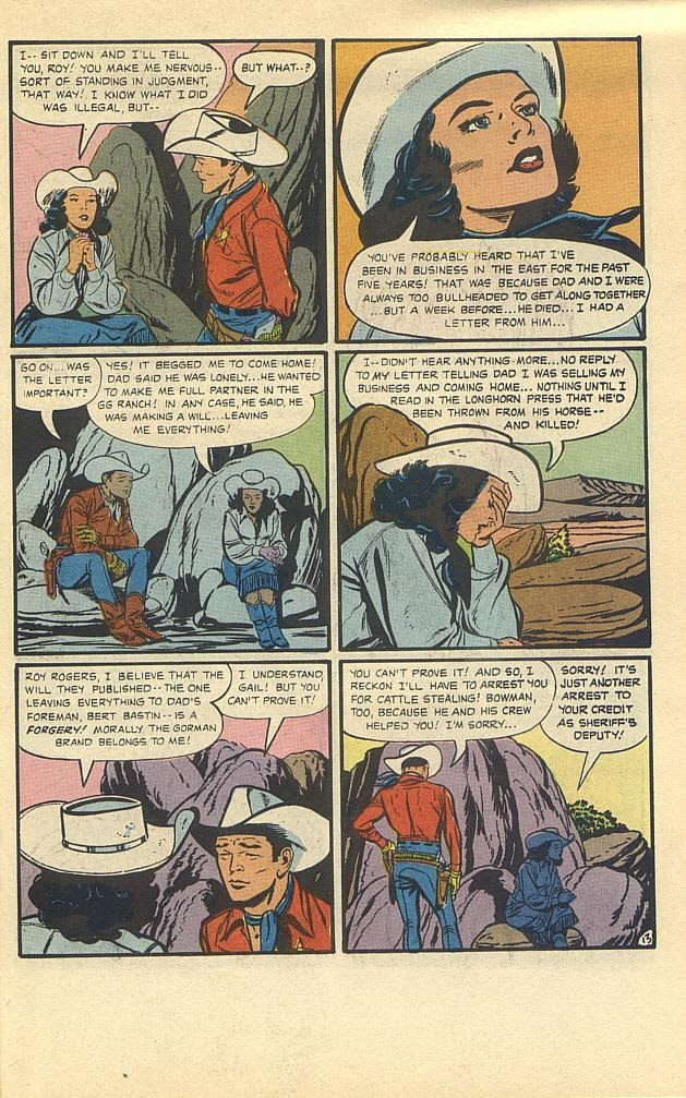 Read online Roy Rogers comic -  Issue #3 - 28