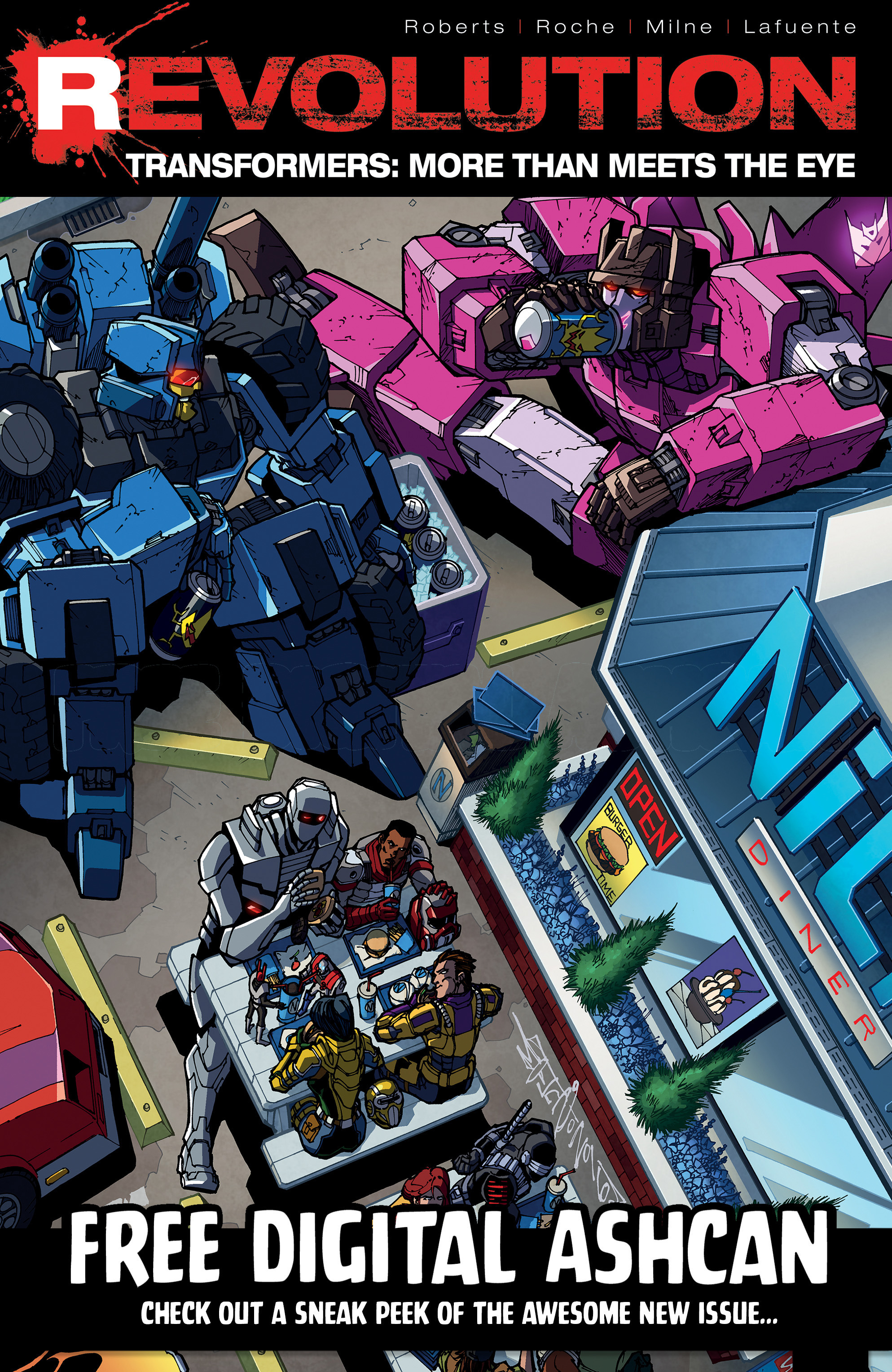 Read online Transformers: Till All Are One comic -  Issue #5 - 27