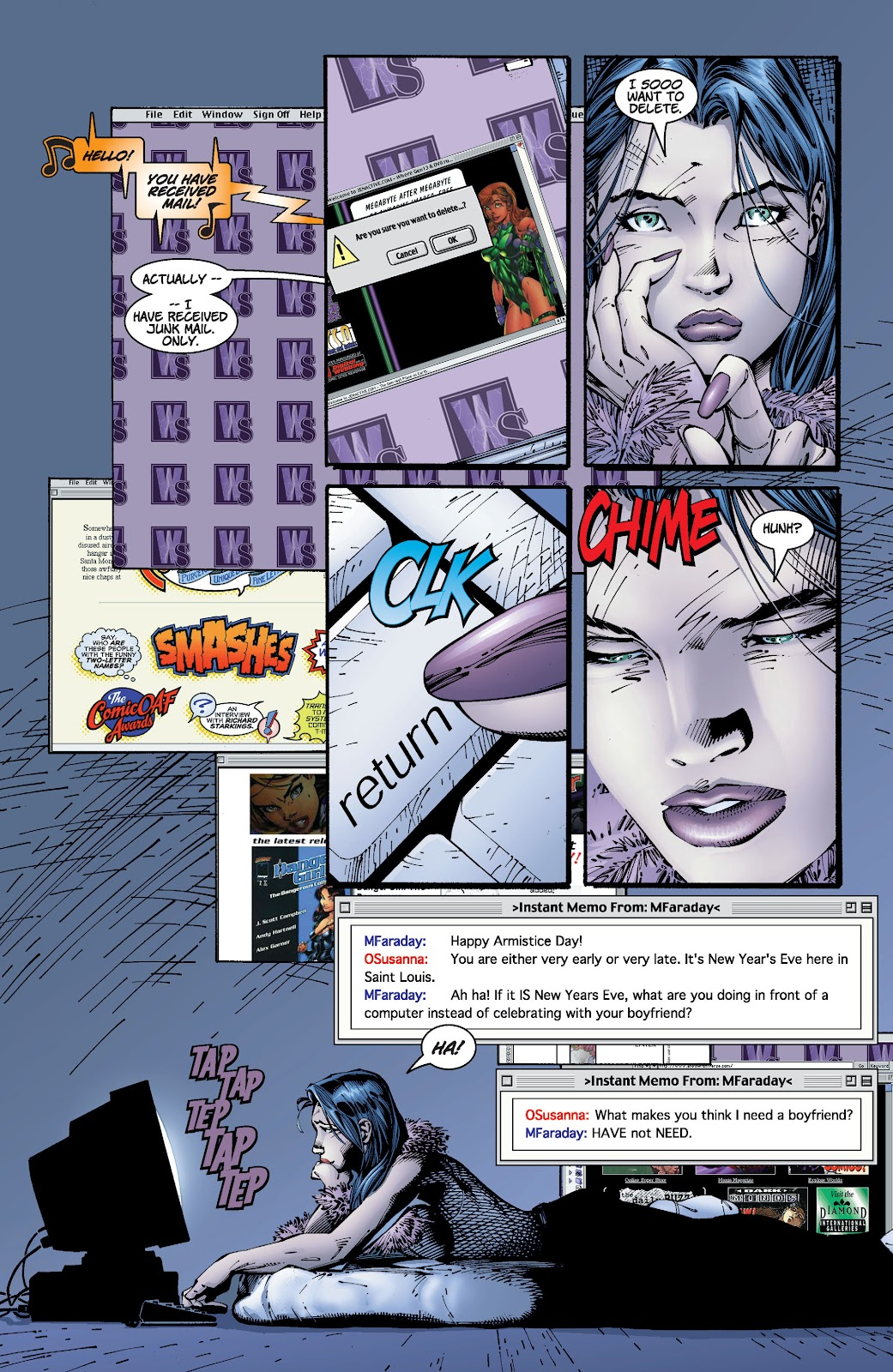 Read online Divine Right comic -  Issue # _TPB The Adventures of Max Faraday (Part 2) - 72