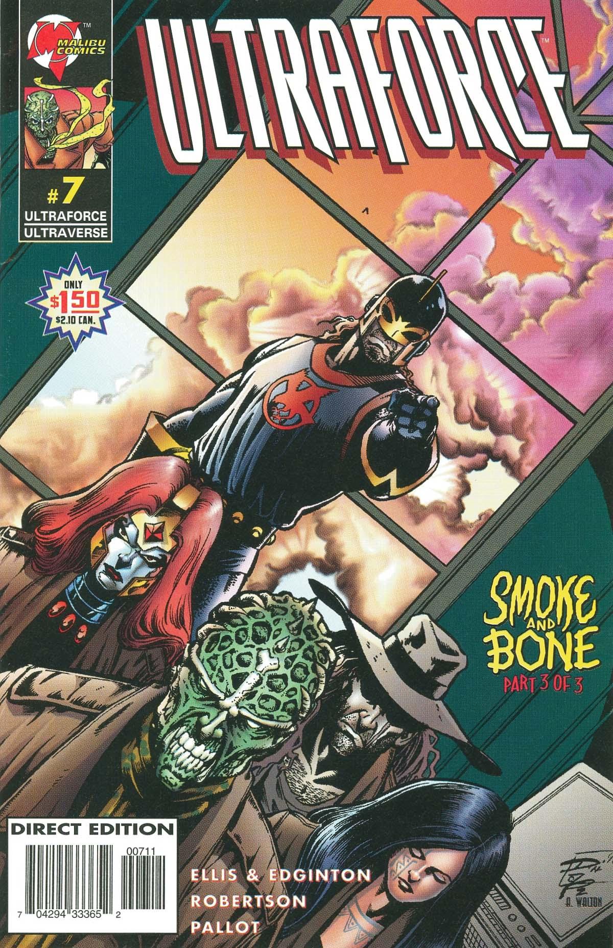 Read online UltraForce (1995) comic -  Issue #7 - 1