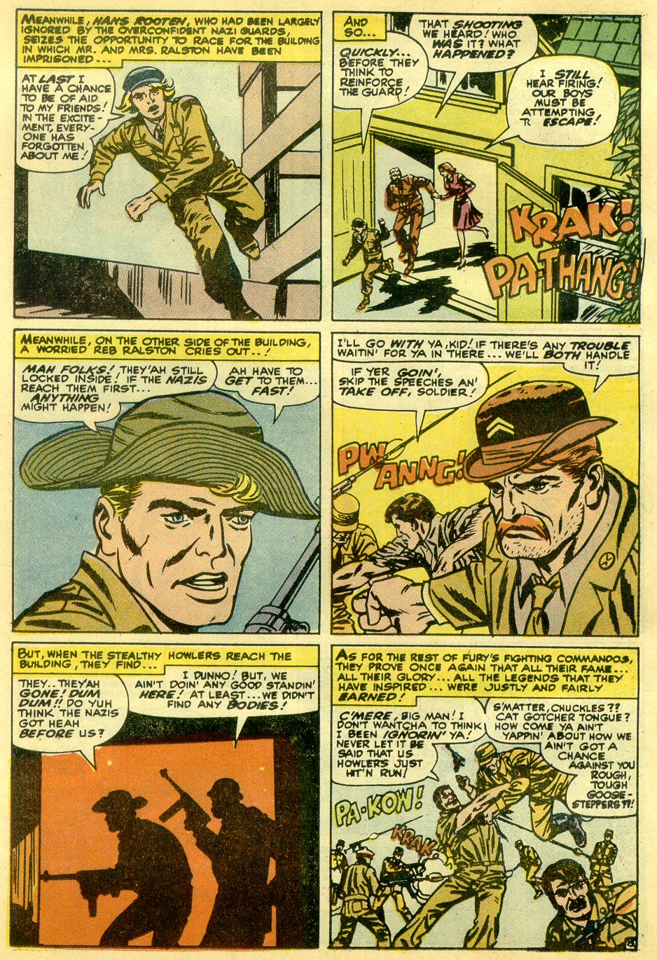 Read online Sgt. Fury comic -  Issue #82 - 23