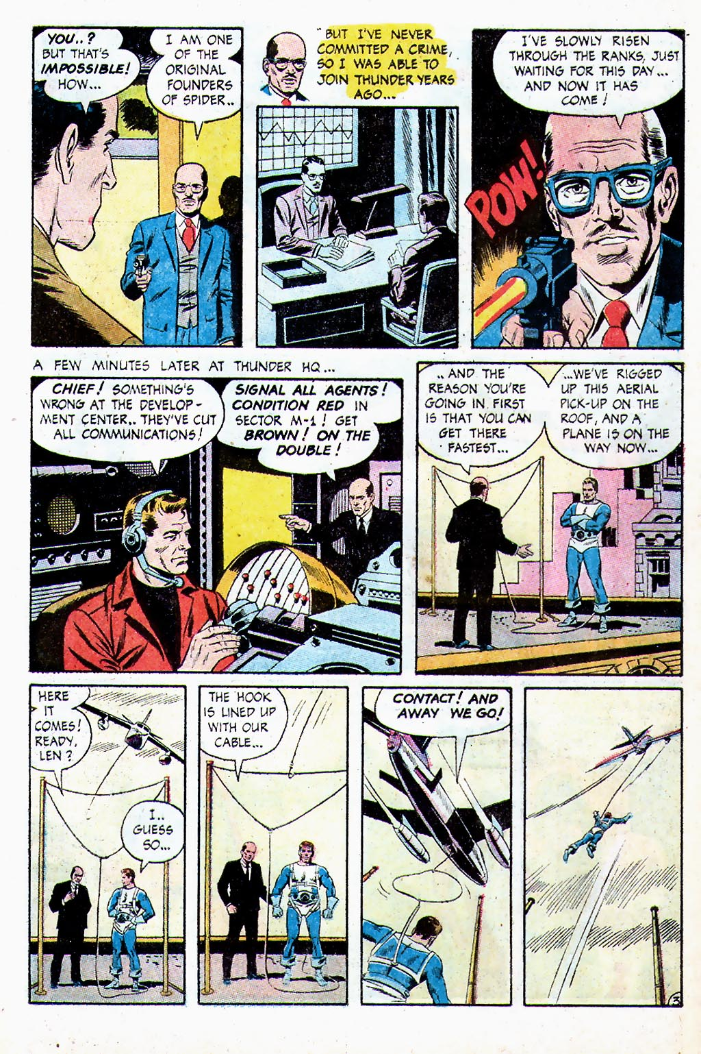 T.H.U.N.D.E.R. Agents (1965) issue 13 - Page 4