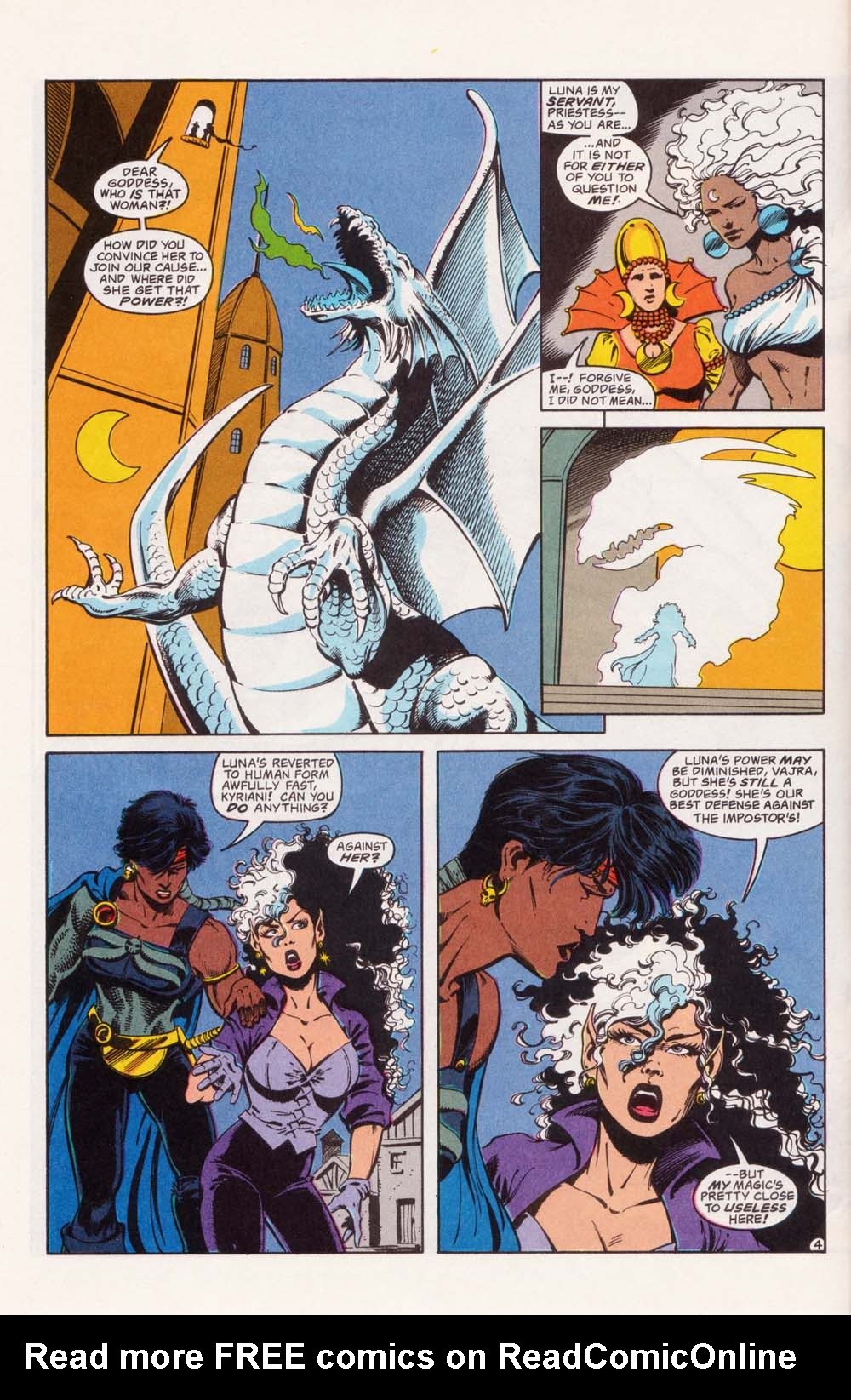 Read online Advanced Dungeons & Dragons comic -  Issue #22 - 4