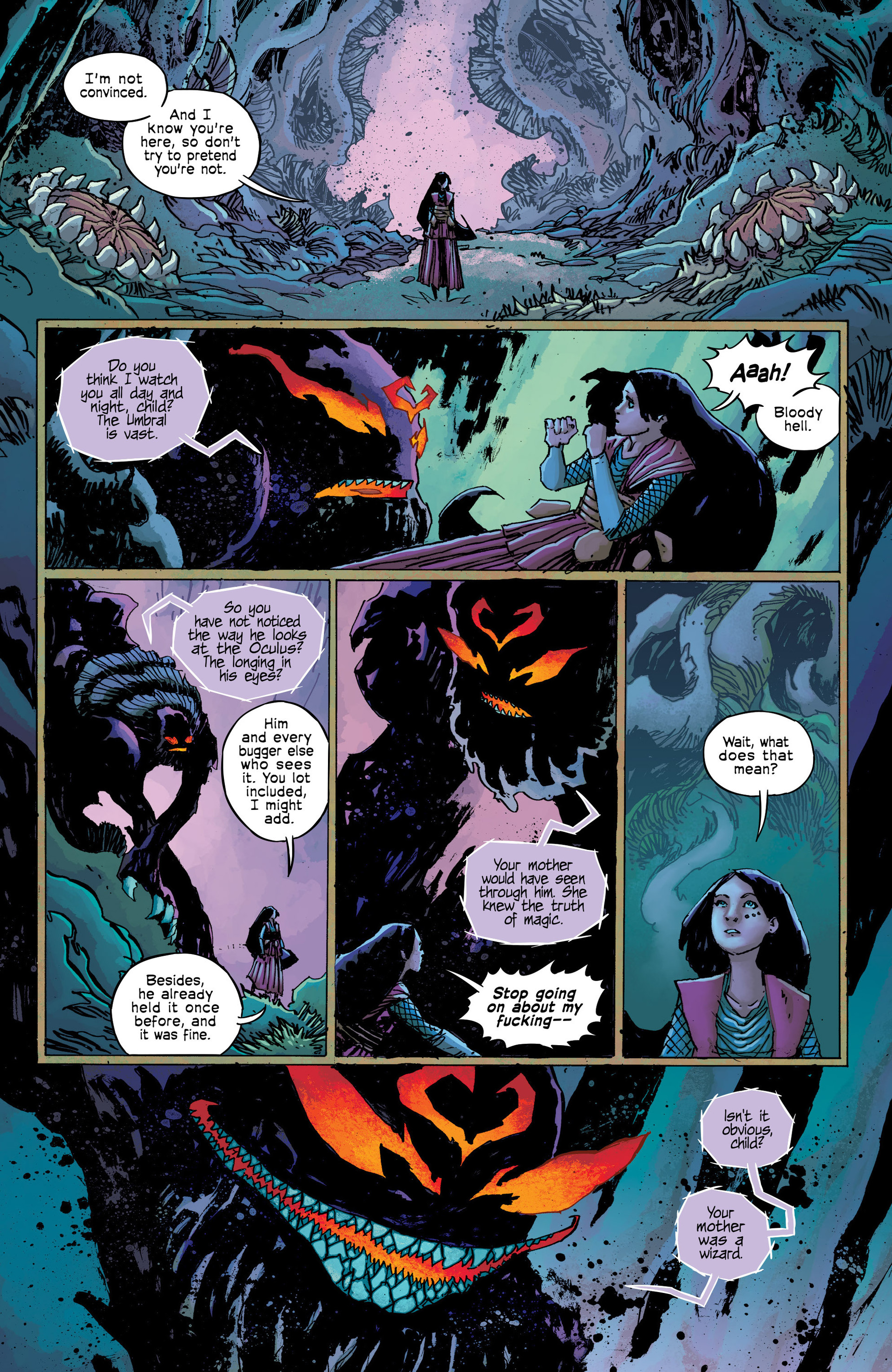 Read online Umbral comic -  Issue #9 - 21